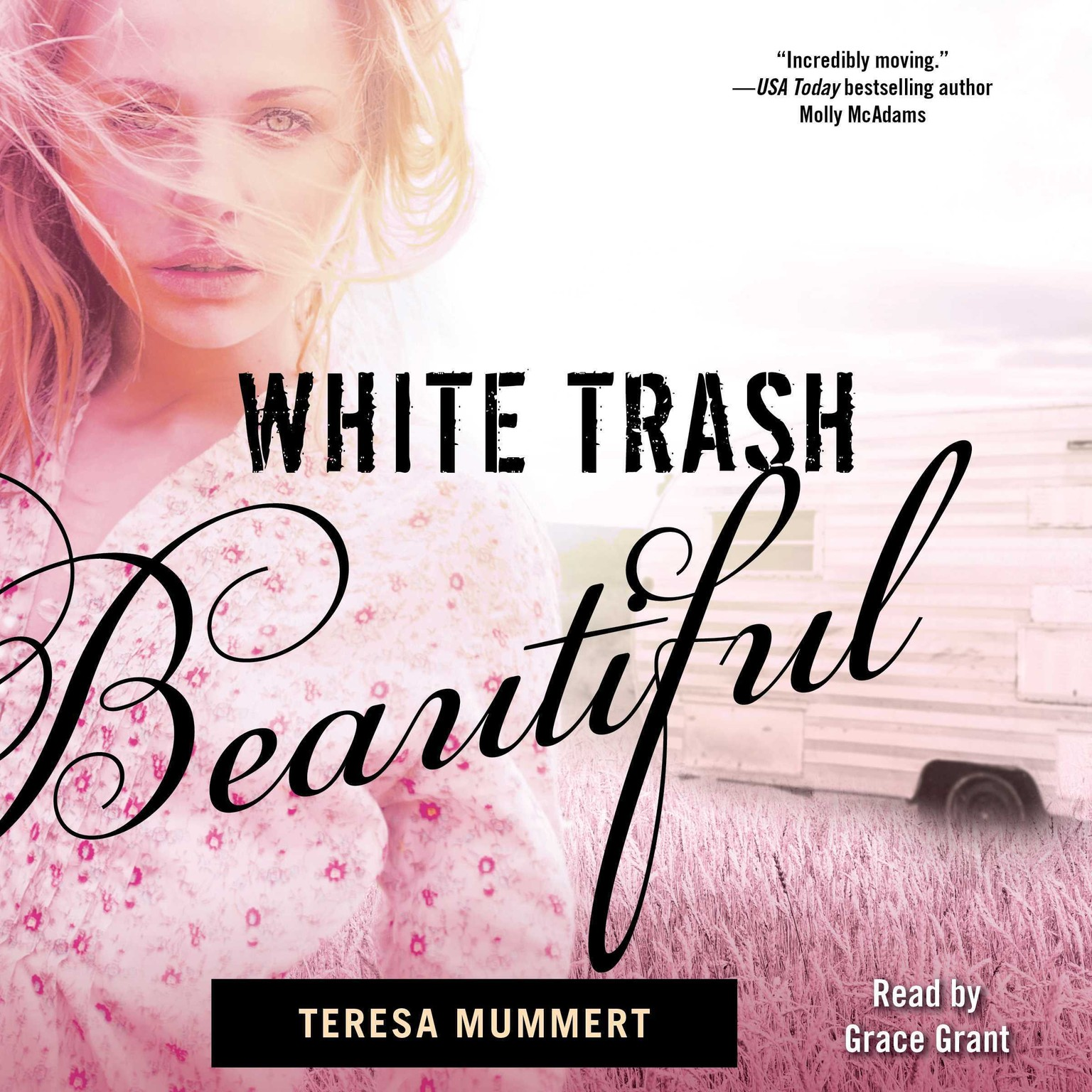 Printable White Trash Beautiful Audiobook Cover Art