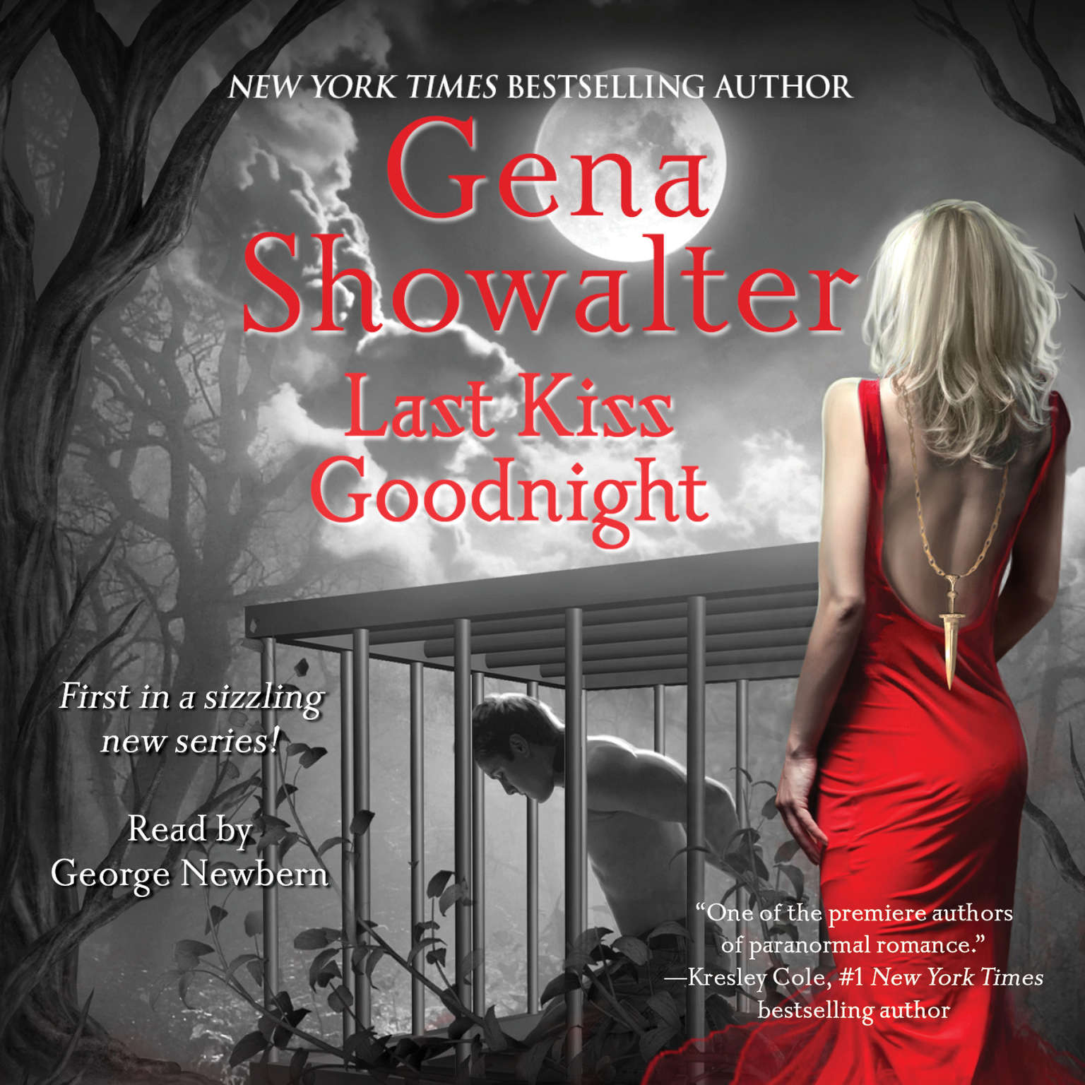 Printable Last Kiss Goodnight: An Otherworld Assassin Novel Audiobook Cover Art