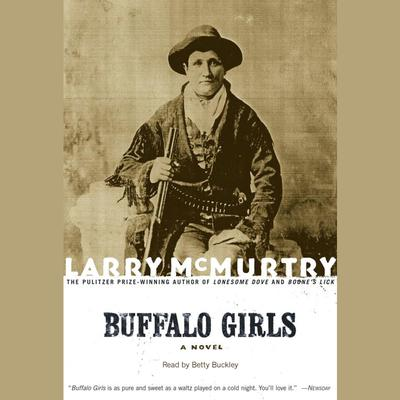 Printable Buffalo Girls Audiobook Cover Art