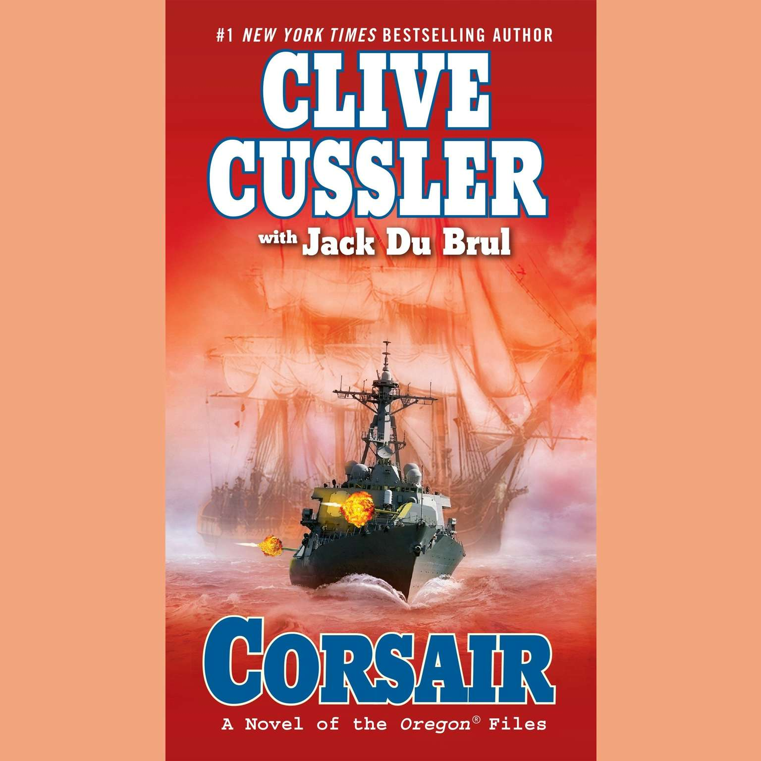 Printable Corsair Audiobook Cover Art