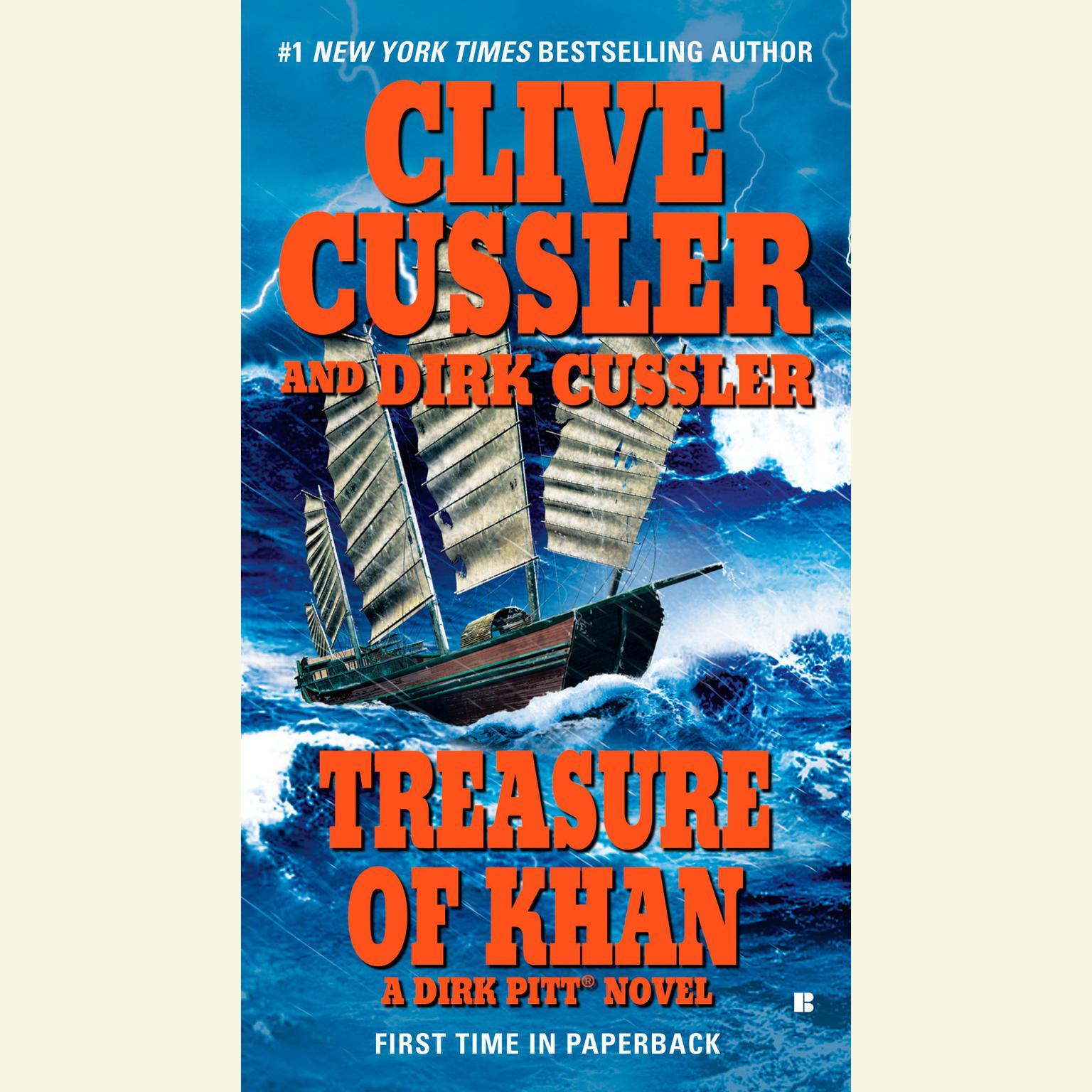 Printable Treasure of Khan Audiobook Cover Art