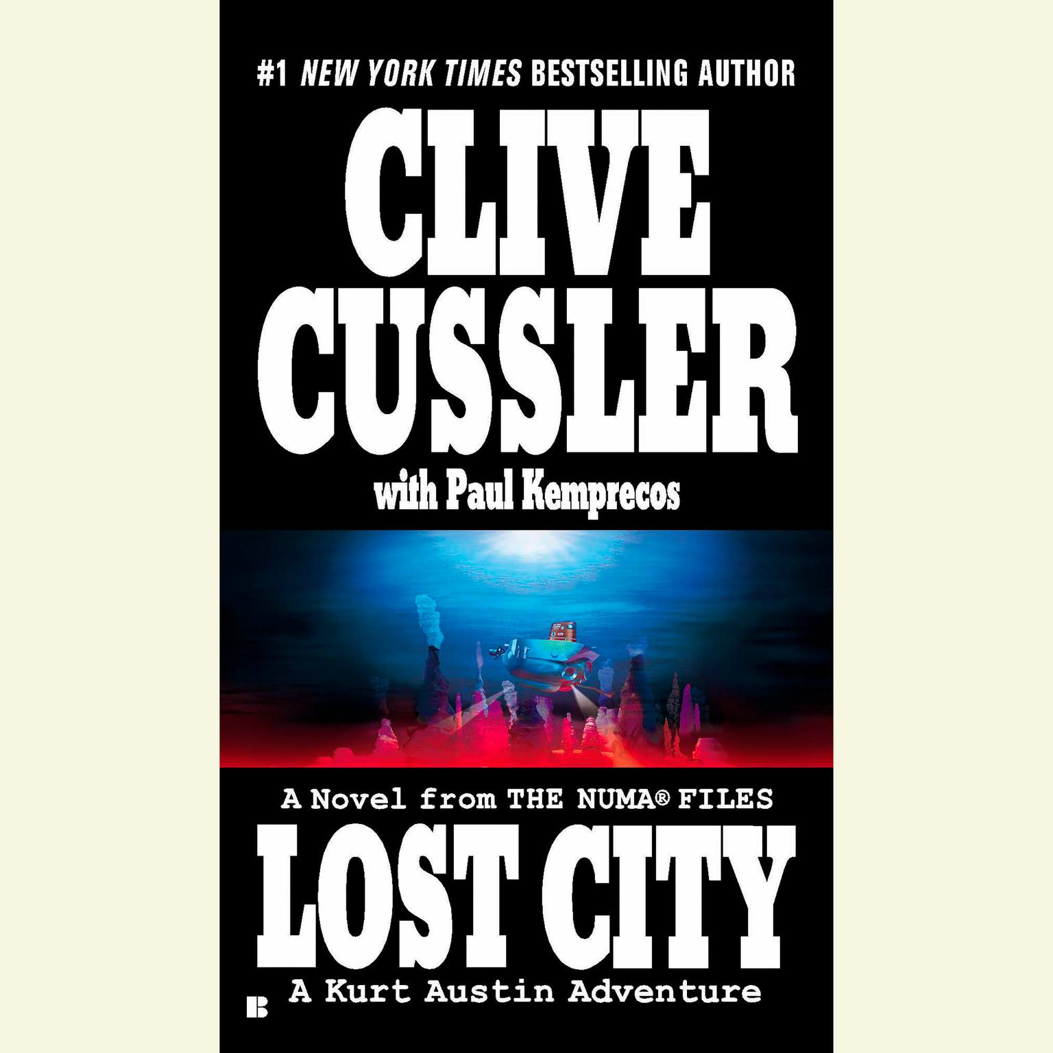 Printable Lost City Disc. Audiobook Cover Art