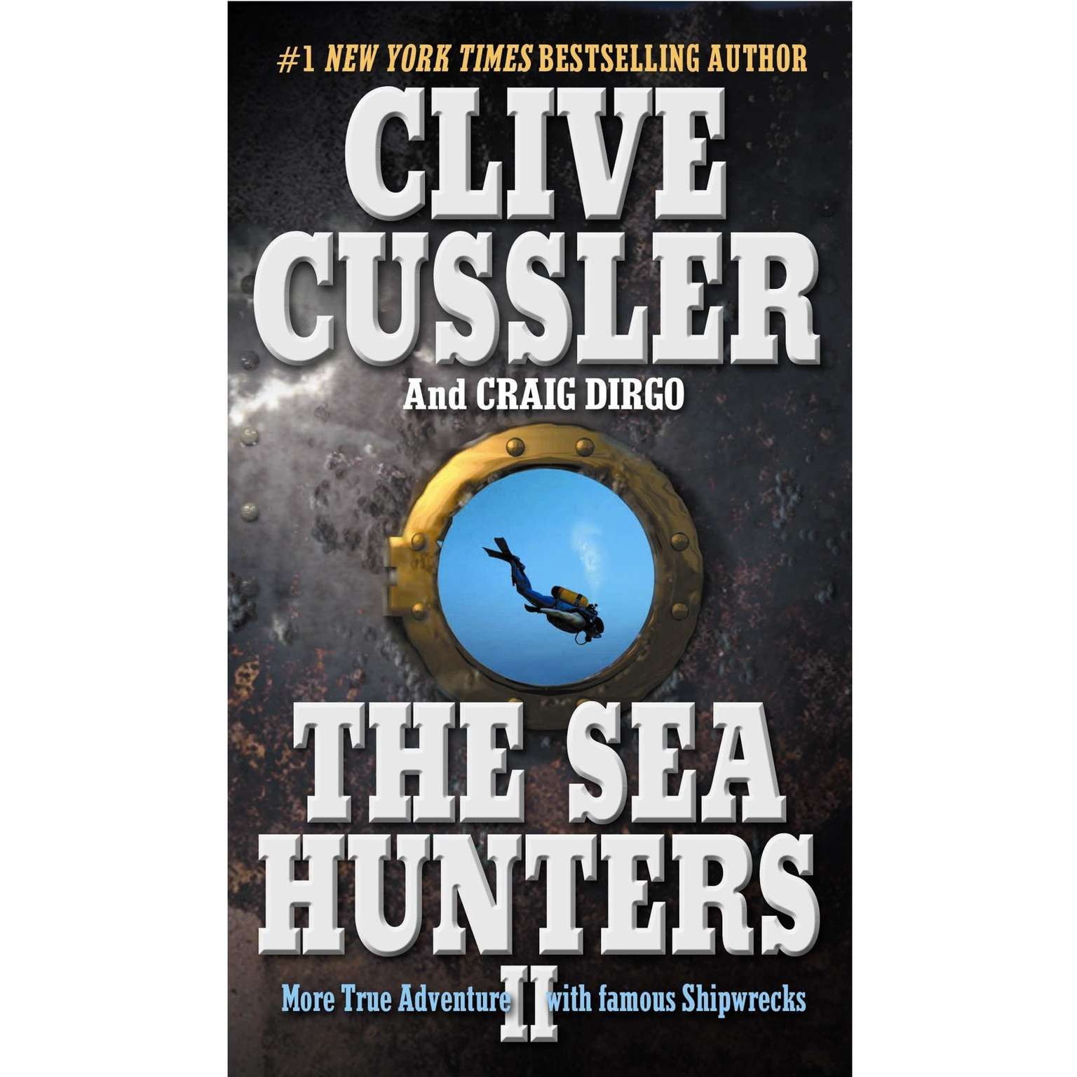Printable The Sea Hunters II Audiobook Cover Art