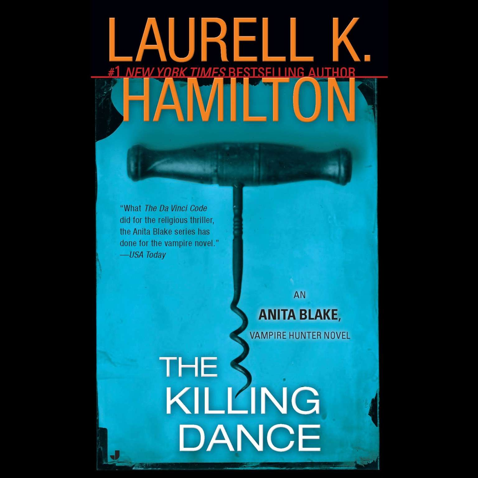 Printable The Killing Dance: An Anita Blake, Vampire Hunter Novel Audiobook Cover Art