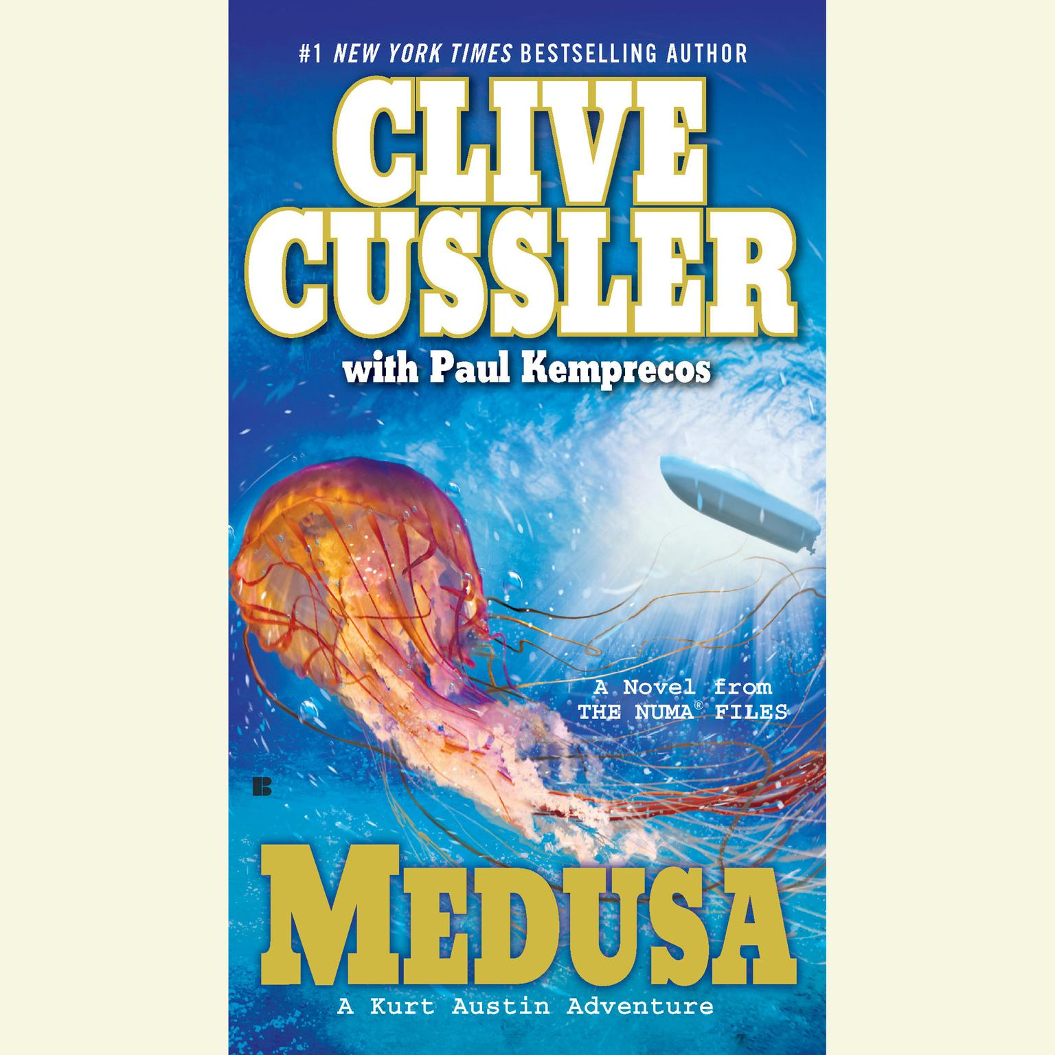 Printable Medusa Audiobook Cover Art