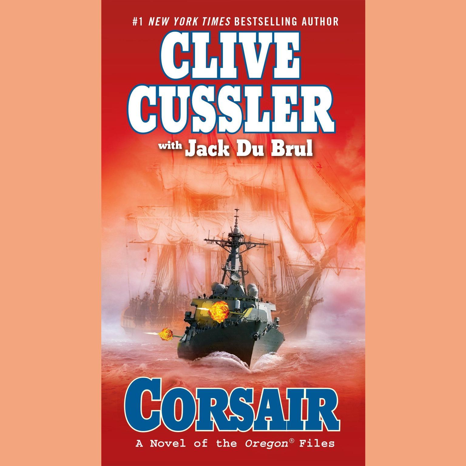 Printable Corsair Audiobook Cover Art