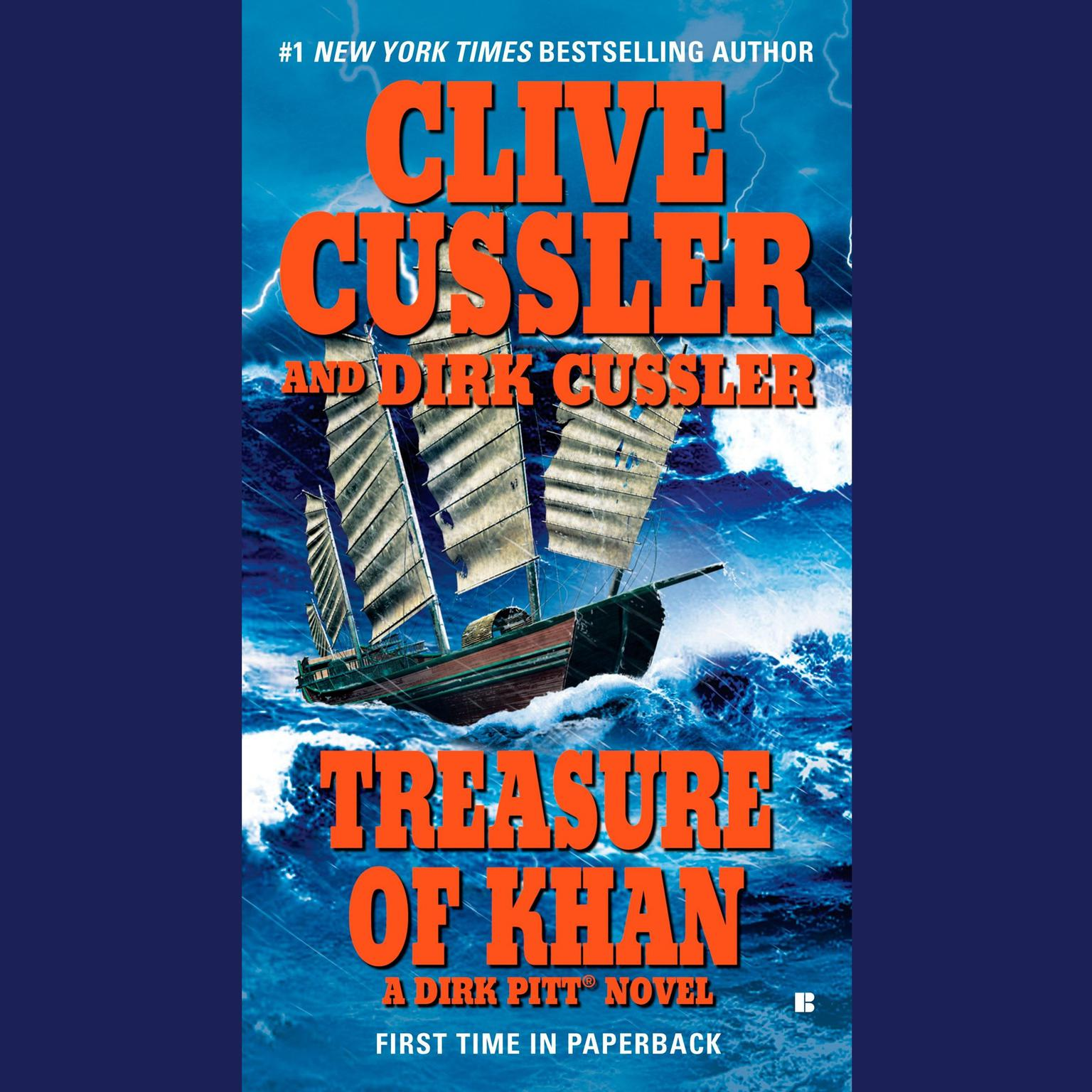 Printable Treasure of Khan Audiobook Cover Art