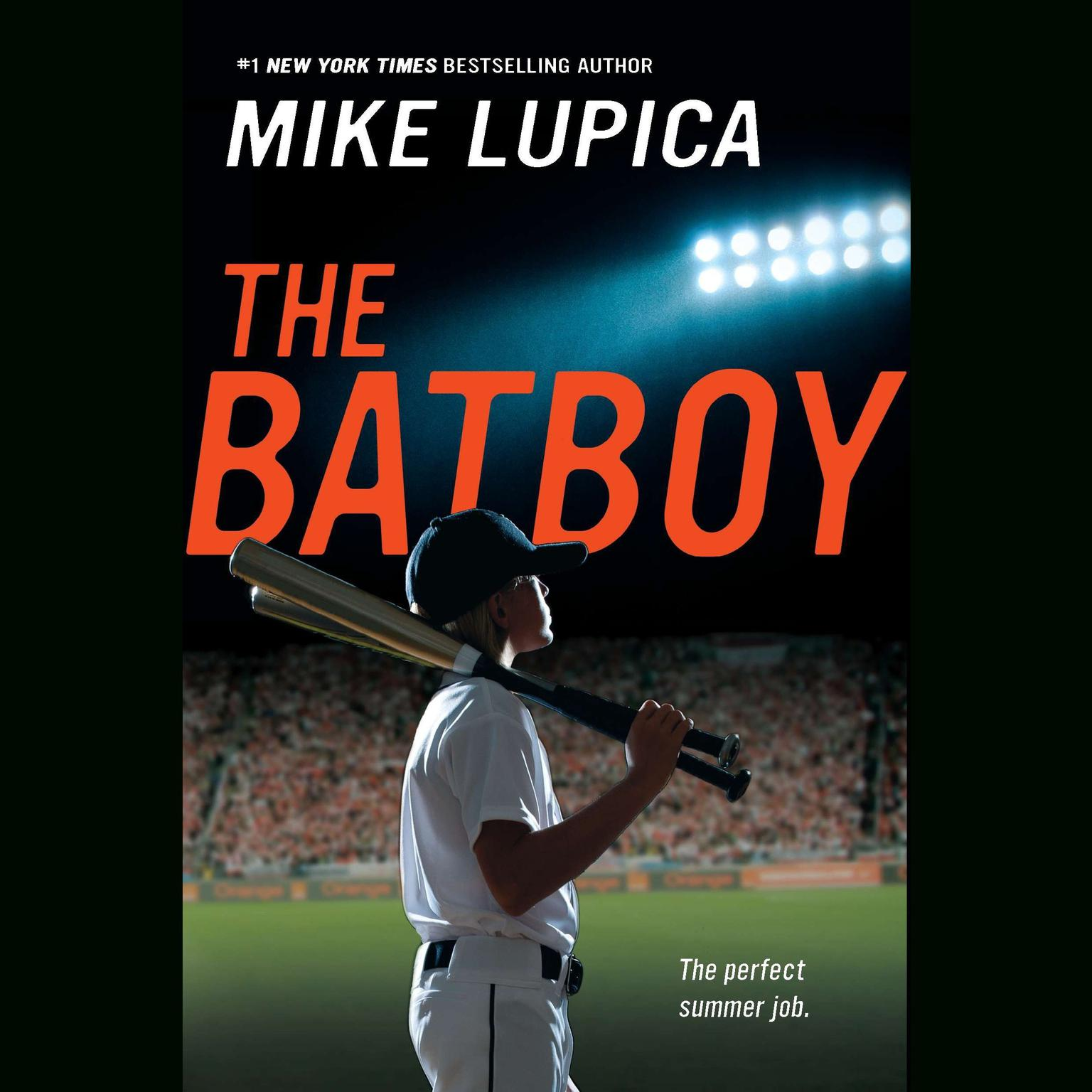 Printable The Batboy Audiobook Cover Art