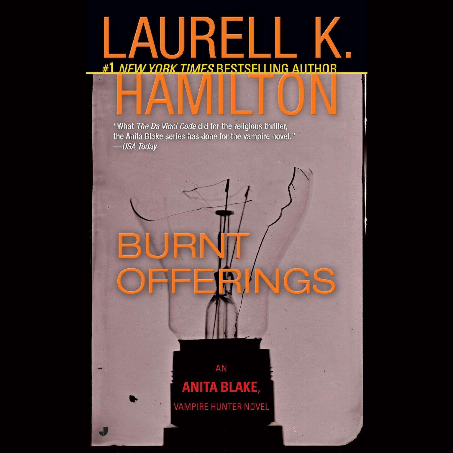 Printable Burnt Offerings: An Anita Blake, Vampire Hunter Novel Audiobook Cover Art