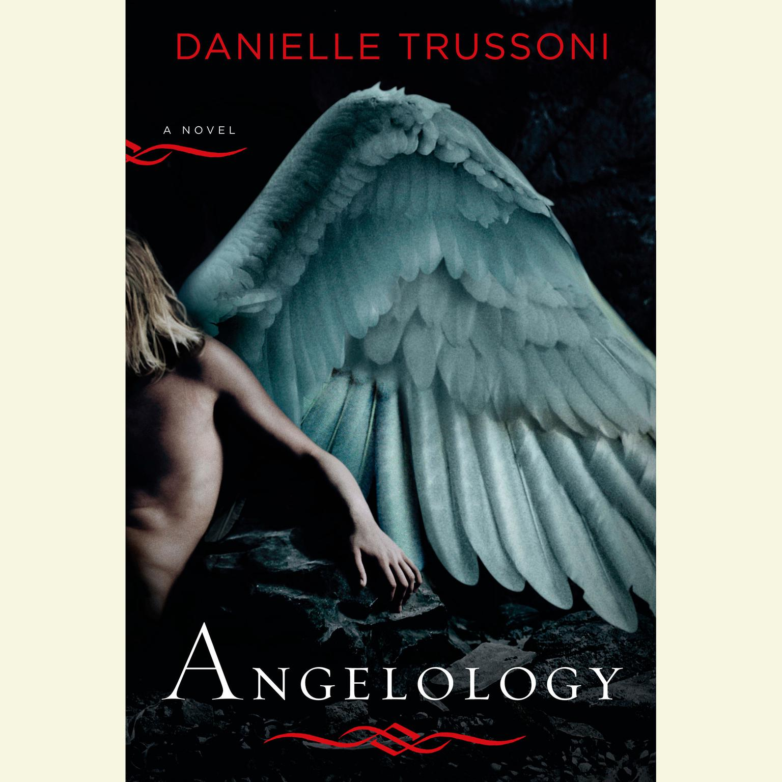 Printable Angelology: A Novel Audiobook Cover Art