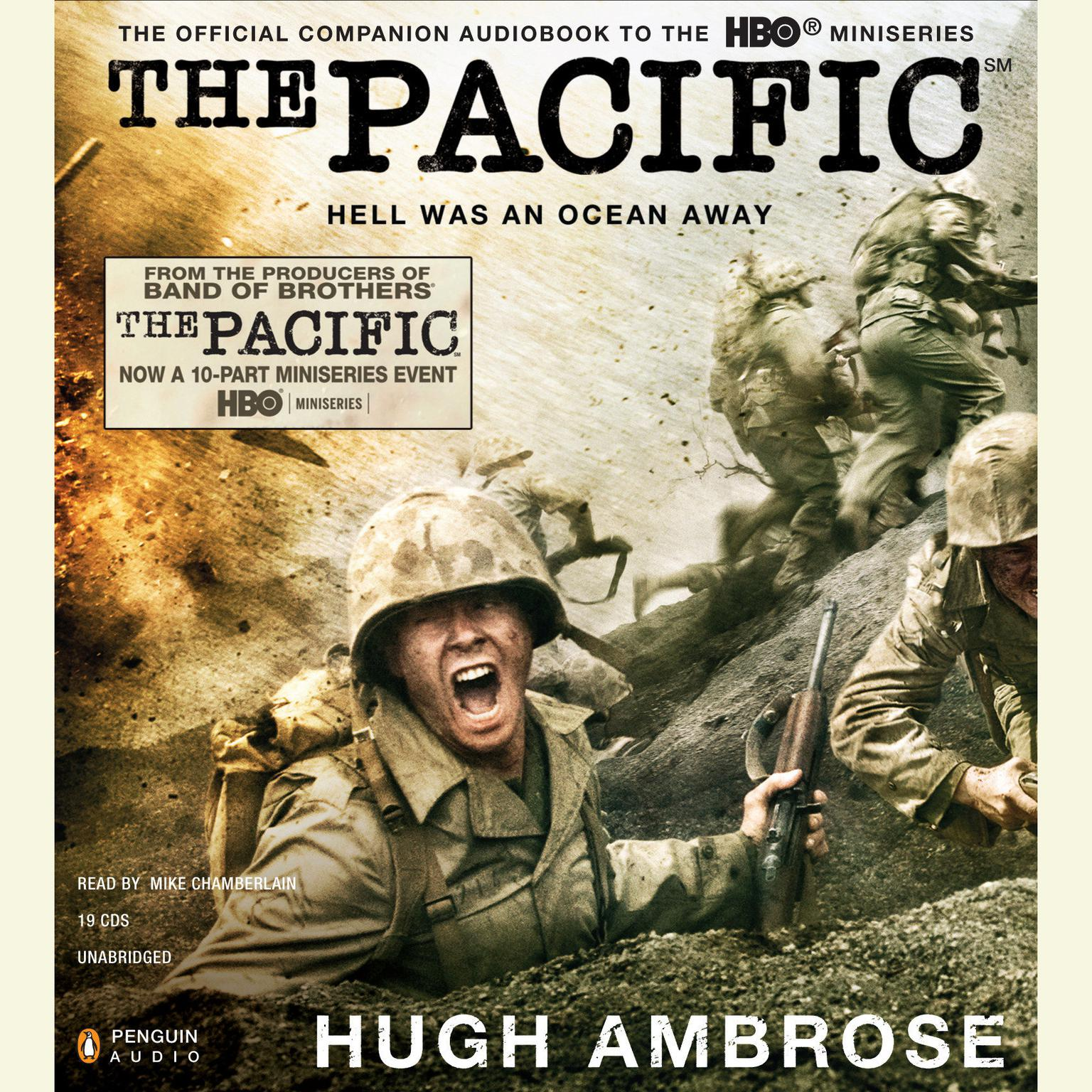 Printable The Pacific: Hell Was an Ocean Away Audiobook Cover Art