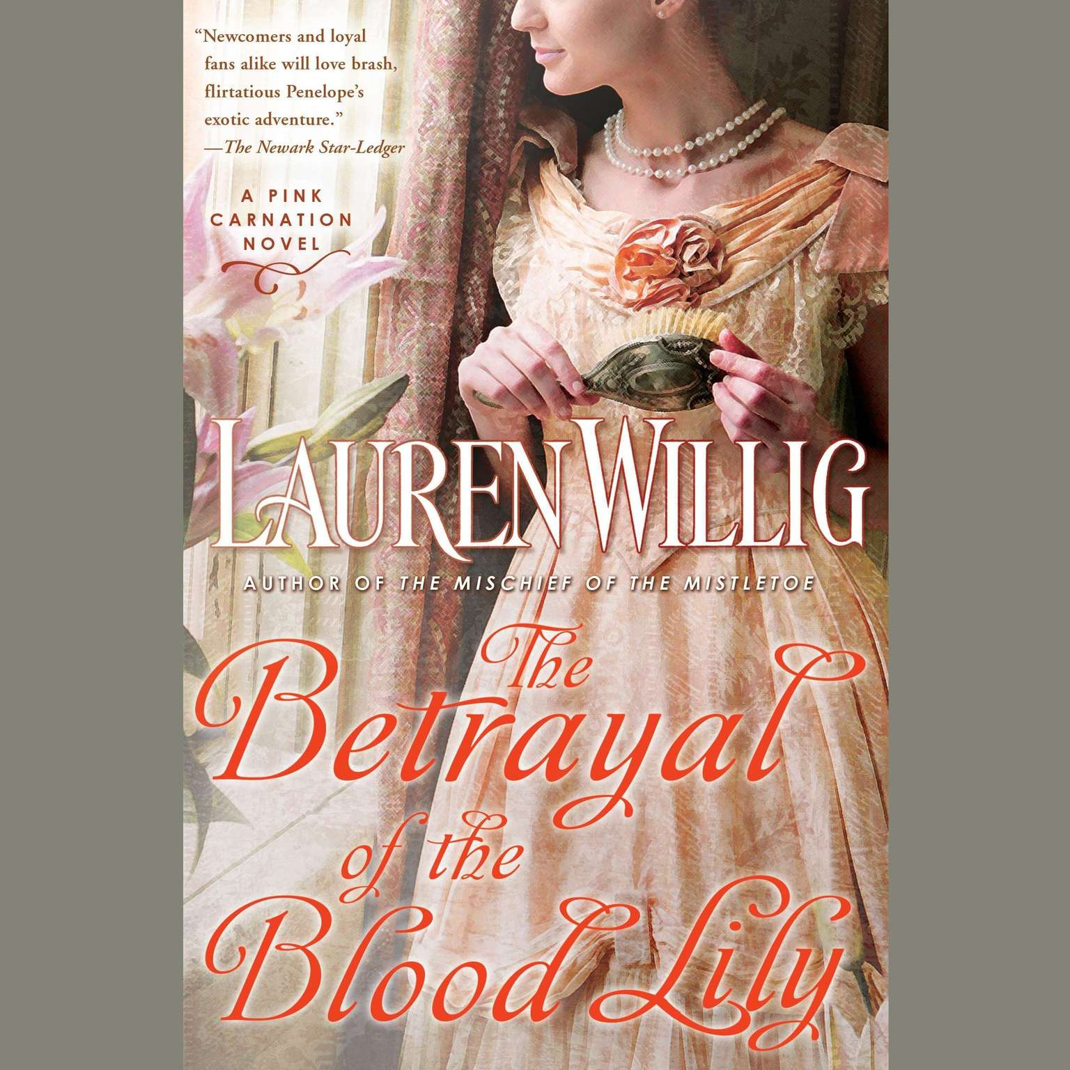 Printable The Betrayal of the Blood Lily Audiobook Cover Art