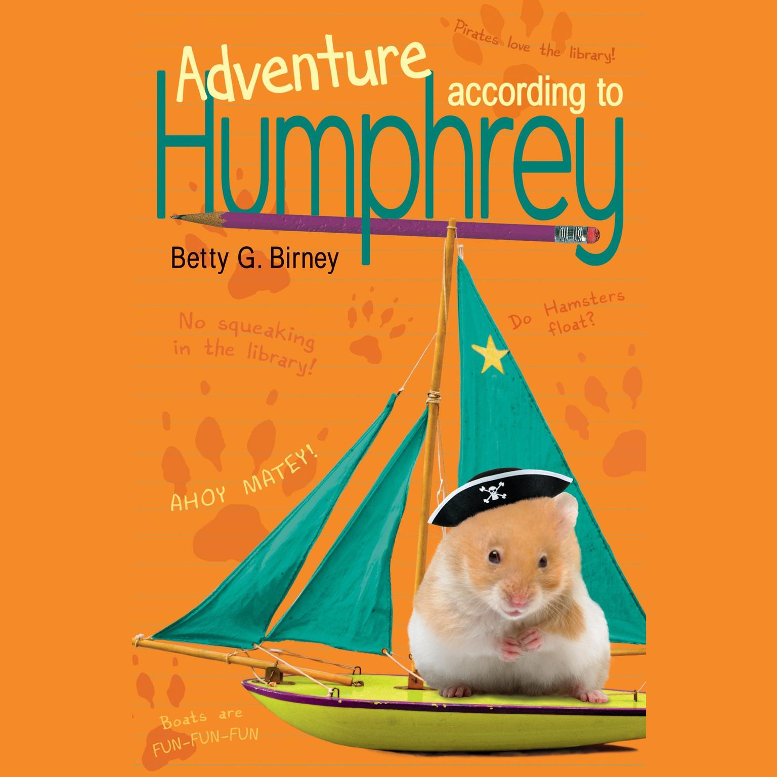 Printable Adventure According to Humphrey Audiobook Cover Art