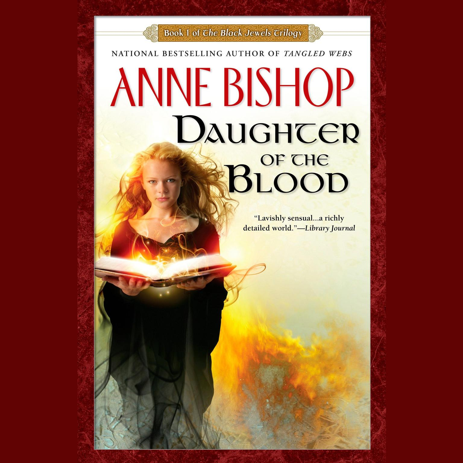 Printable Daughter of the Blood: Book 1 of The Black Jewels Trilogy Audiobook Cover Art