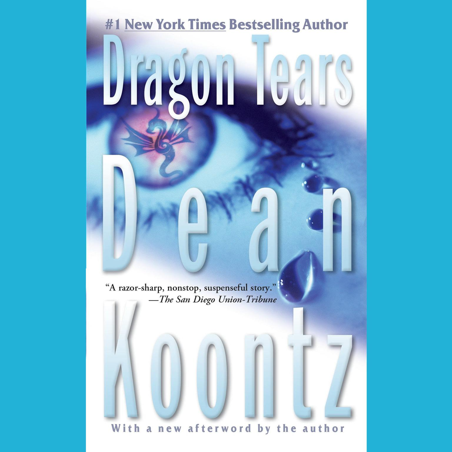 Printable Dragon Tears Audiobook Cover Art