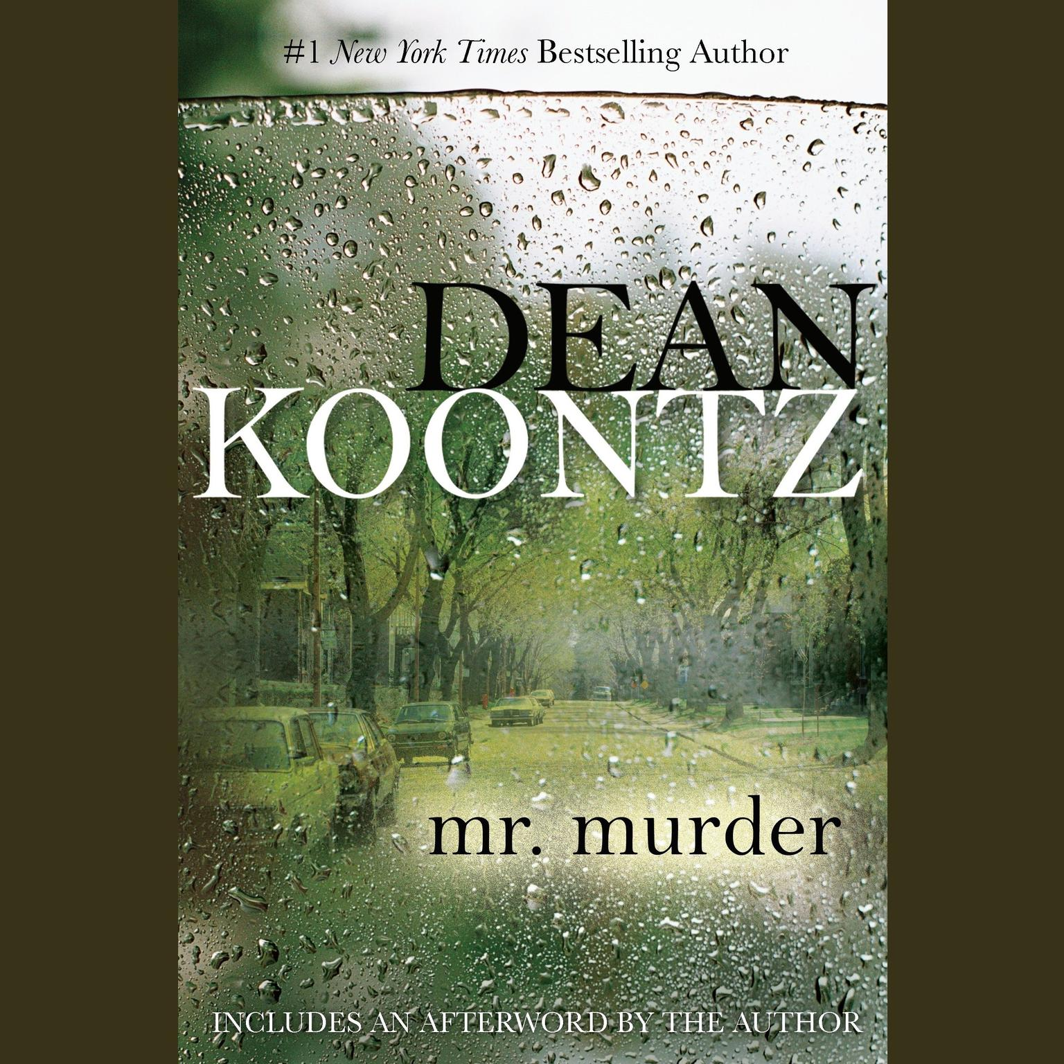 Printable Mr. Murder Audiobook Cover Art
