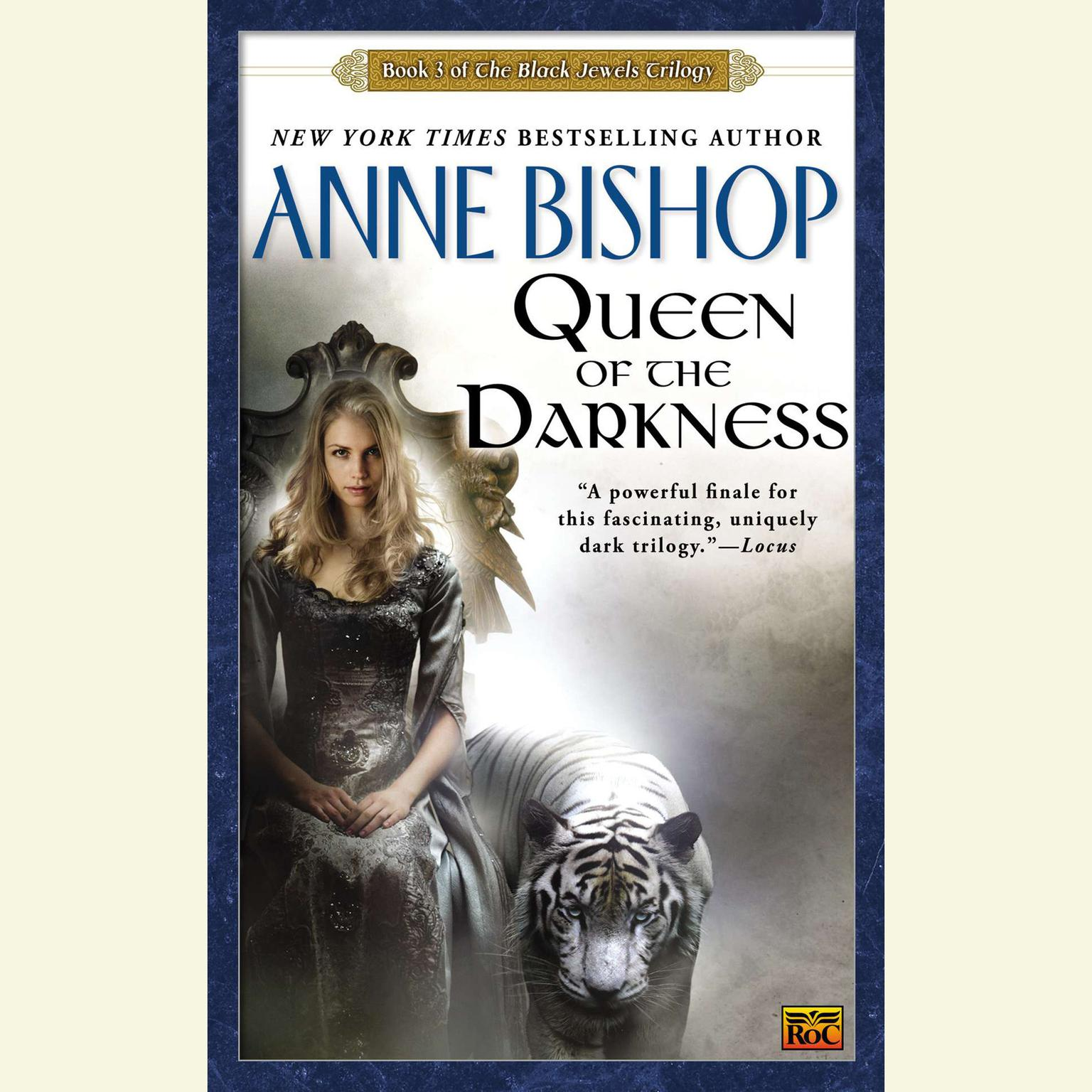 Printable Queen of the Darkness: Book 3 of the Black Jewels Trilogy Audiobook Cover Art