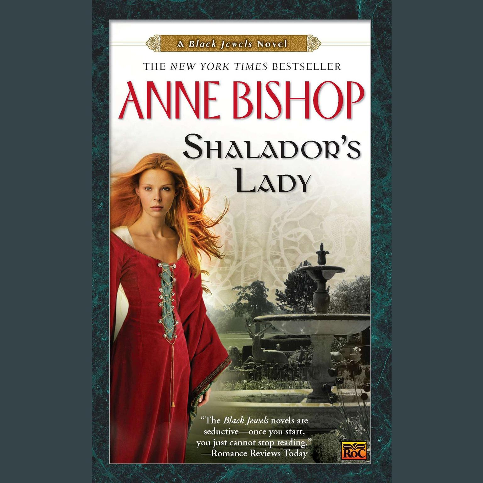 Printable Shalador's Lady: A Black Jewels Novel Audiobook Cover Art