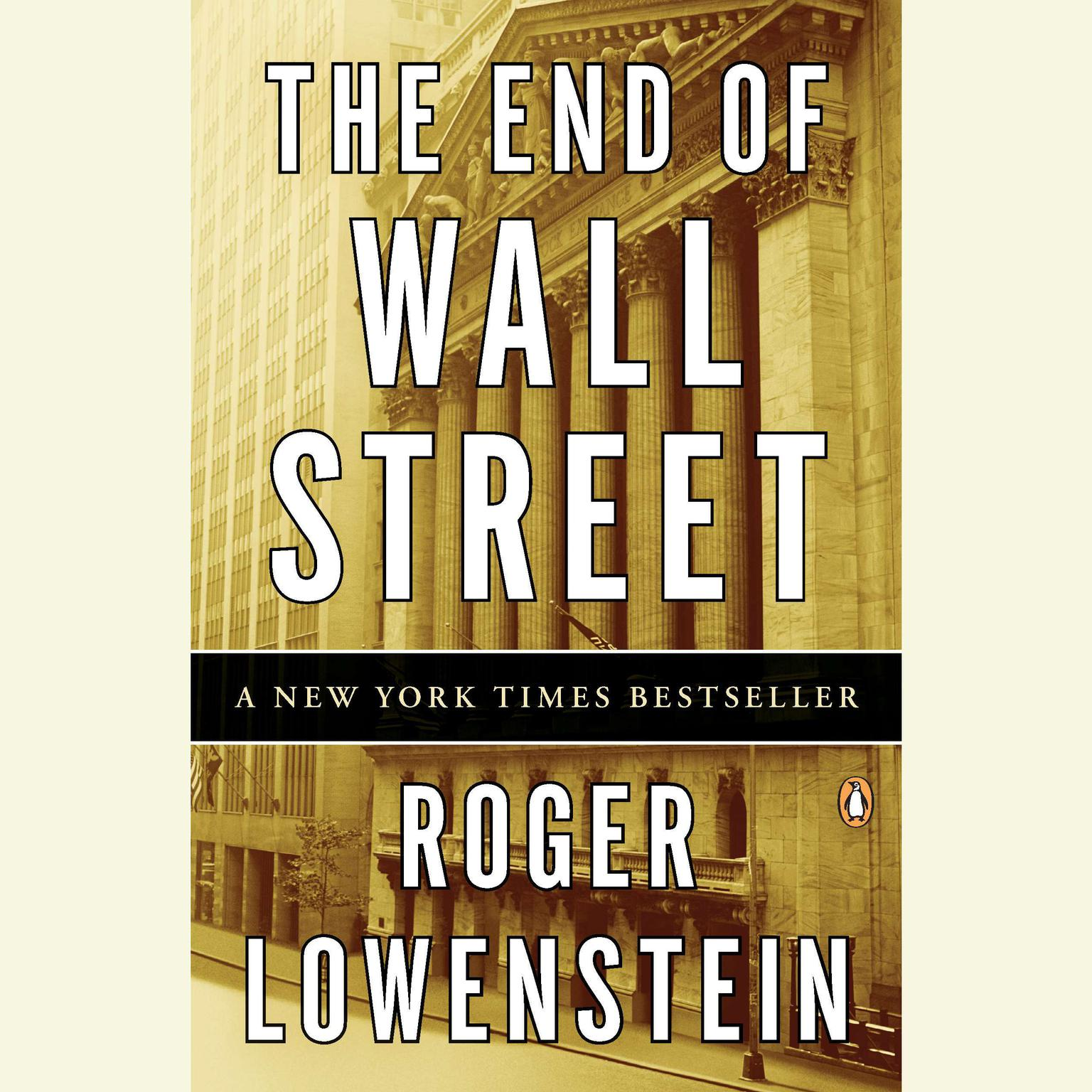 Printable The End of Wall Street Audiobook Cover Art