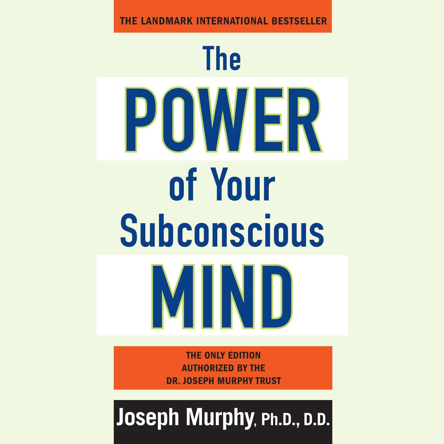 Printable The Power of Your Subconscious Mind: Updated Audiobook Cover Art