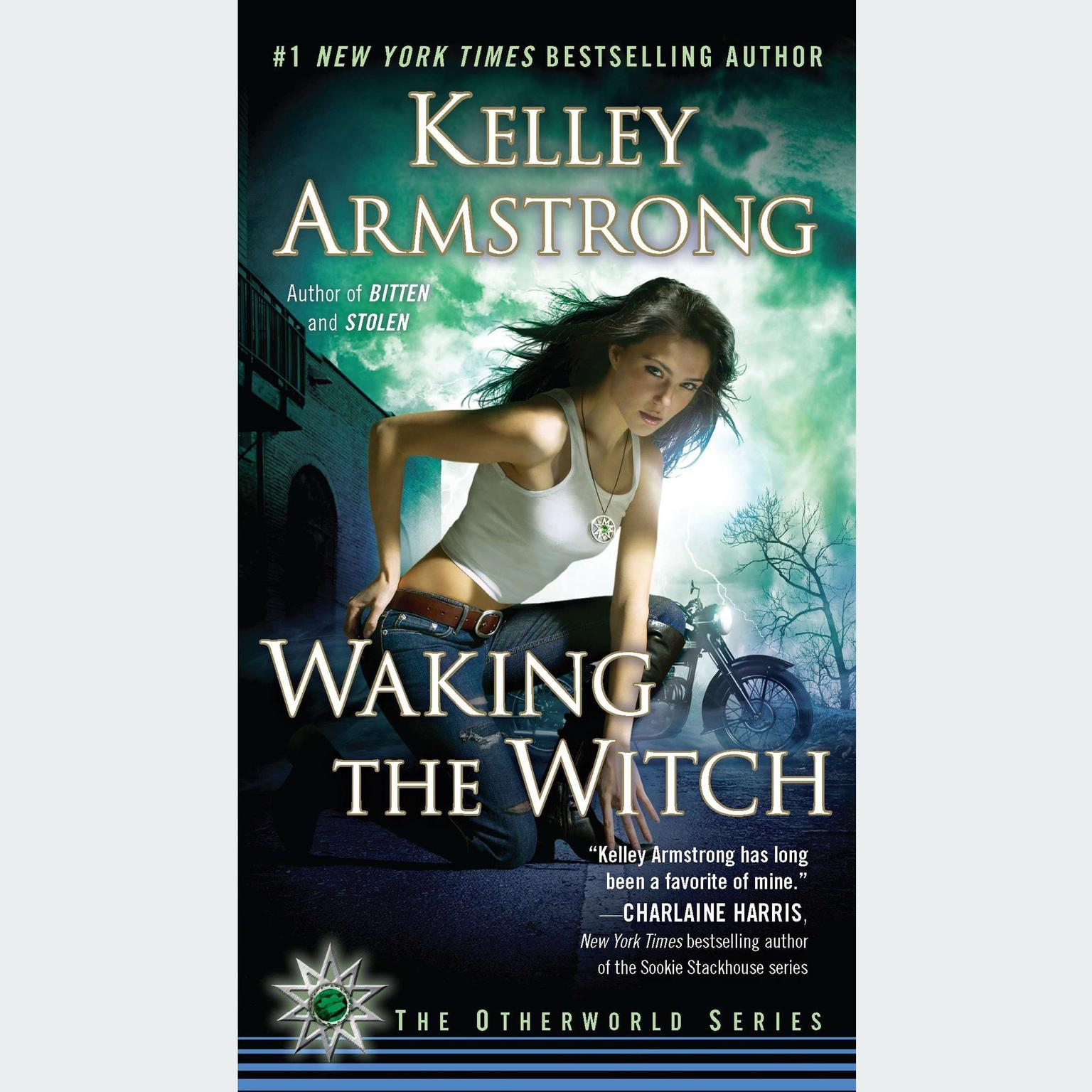Printable Waking the Witch Audiobook Cover Art