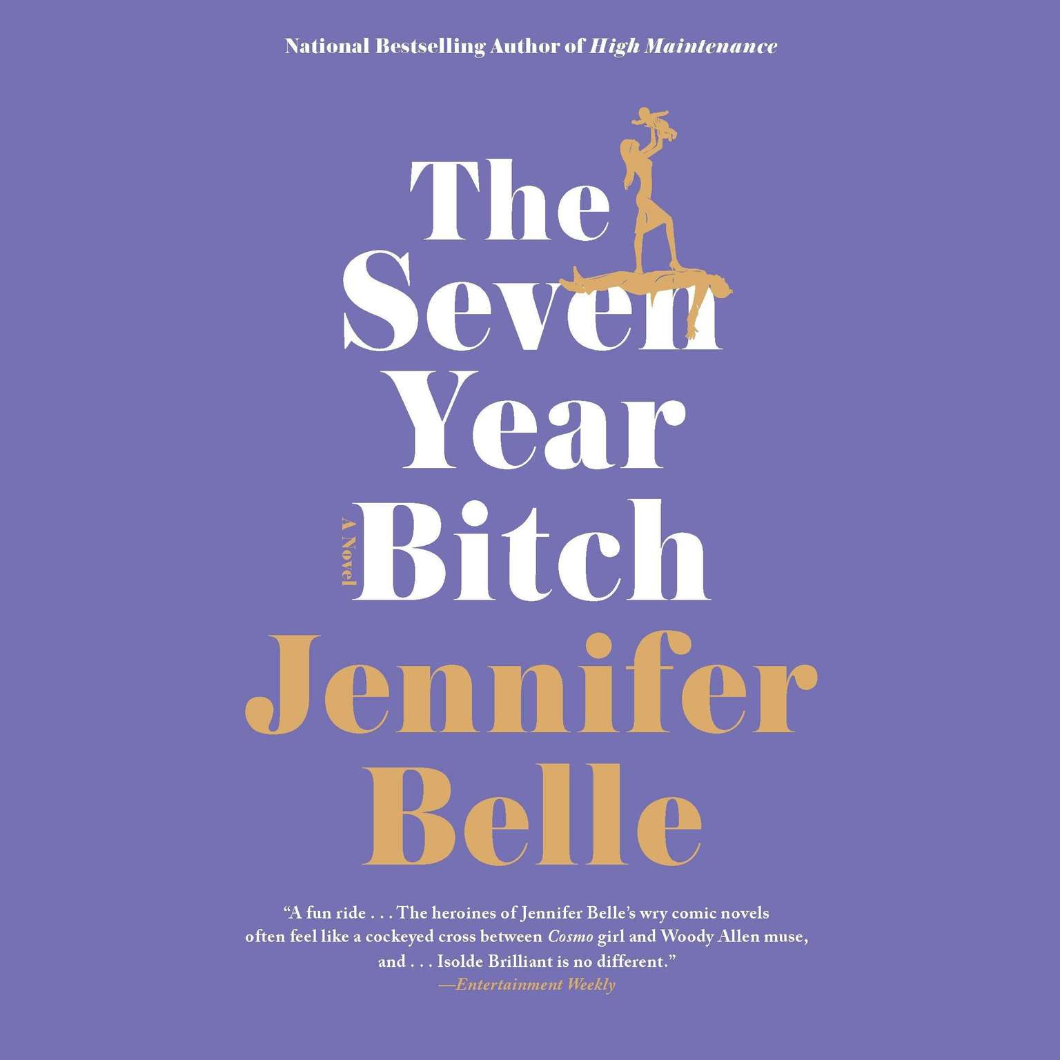 Printable The Seven Year Bitch Audiobook Cover Art
