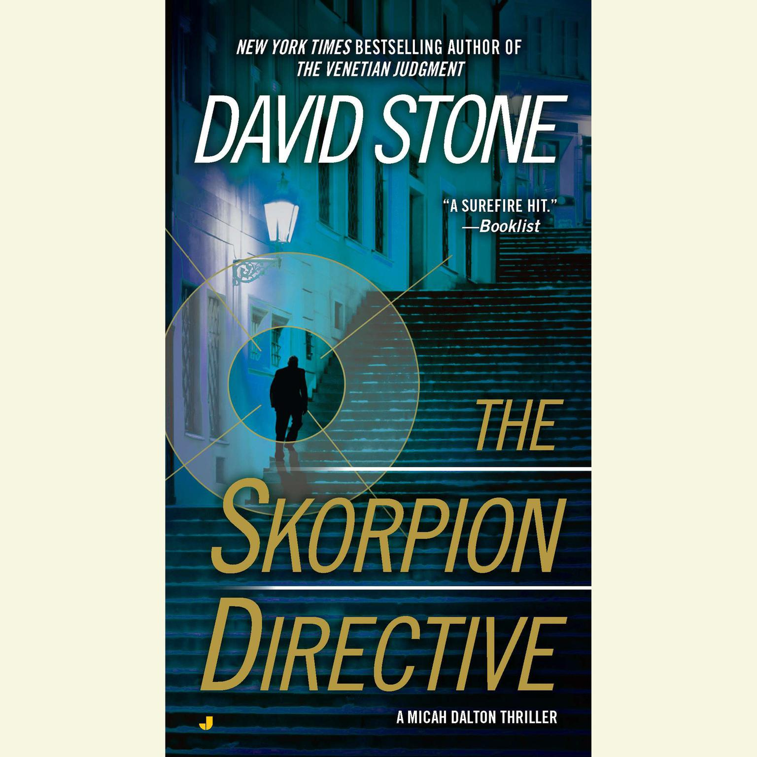 Printable The Skorpion Directive Audiobook Cover Art