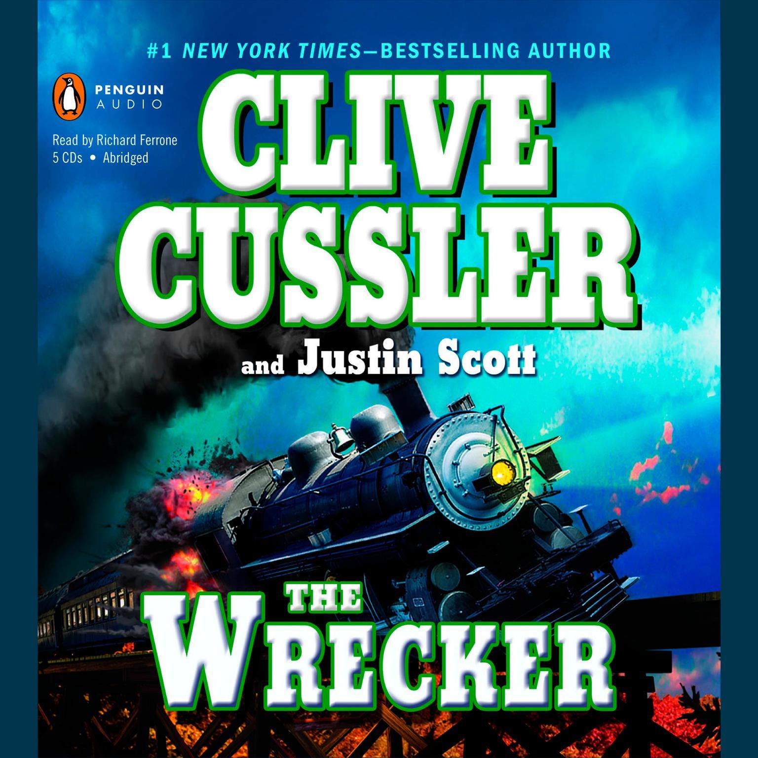 Printable The Wrecker Audiobook Cover Art