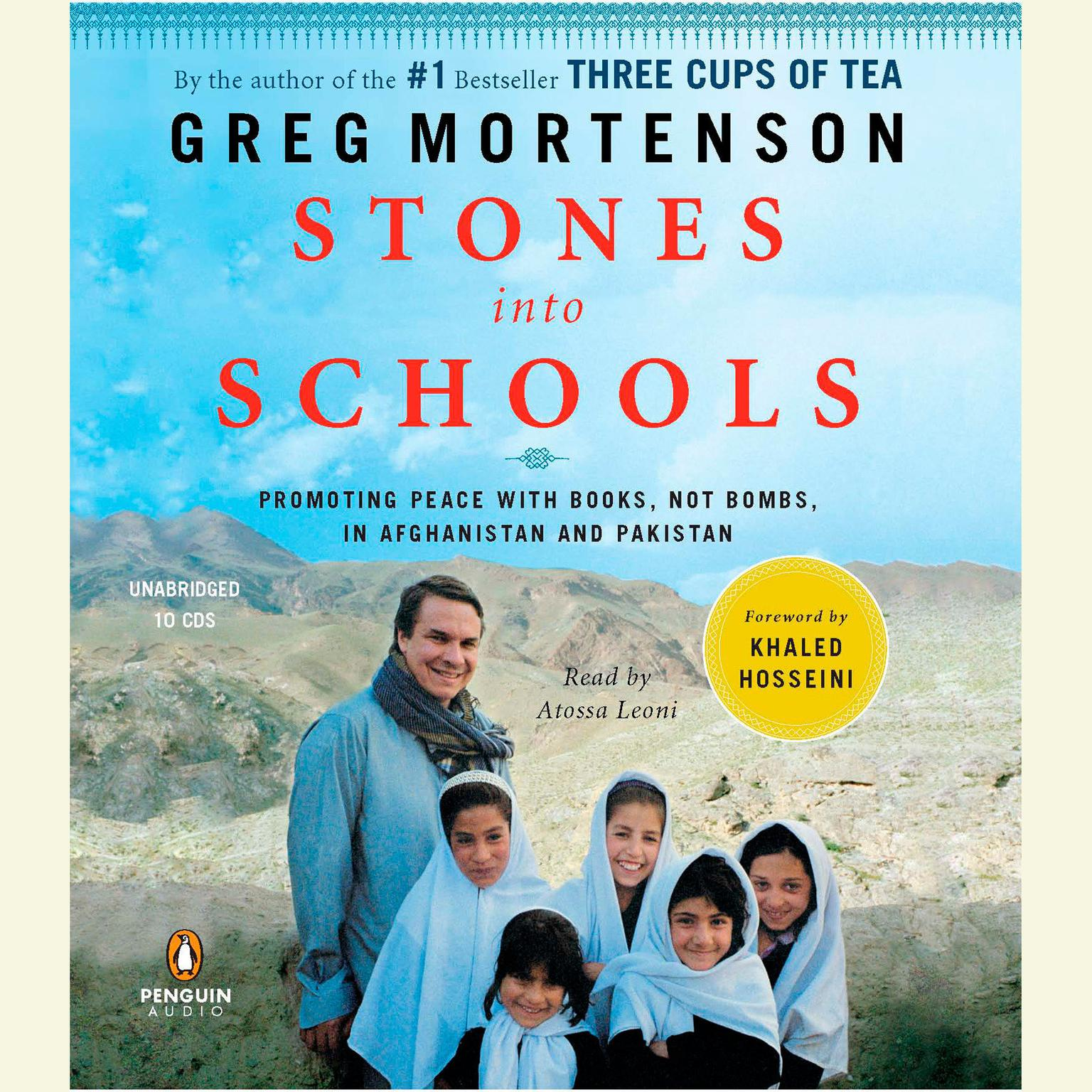 Printable Stones into Schools: Promoting Peace with Books, Not Bombs, in Afghanistan and Pakistan Audiobook Cover Art