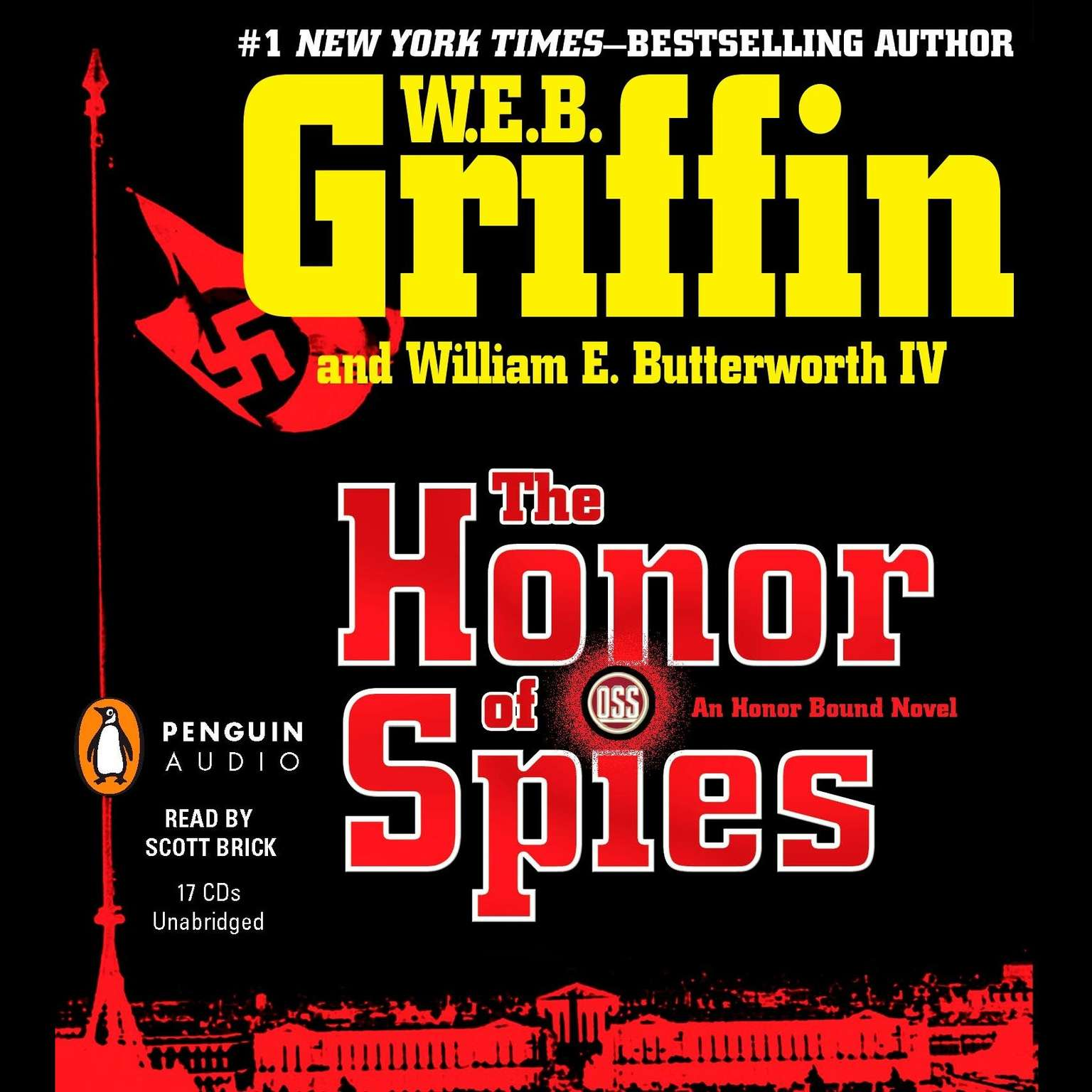 Printable The Honor of Spies Audiobook Cover Art