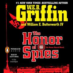 The Honor of Spies Audiobook, by W. E. B. Griffin, William E. Butterworth