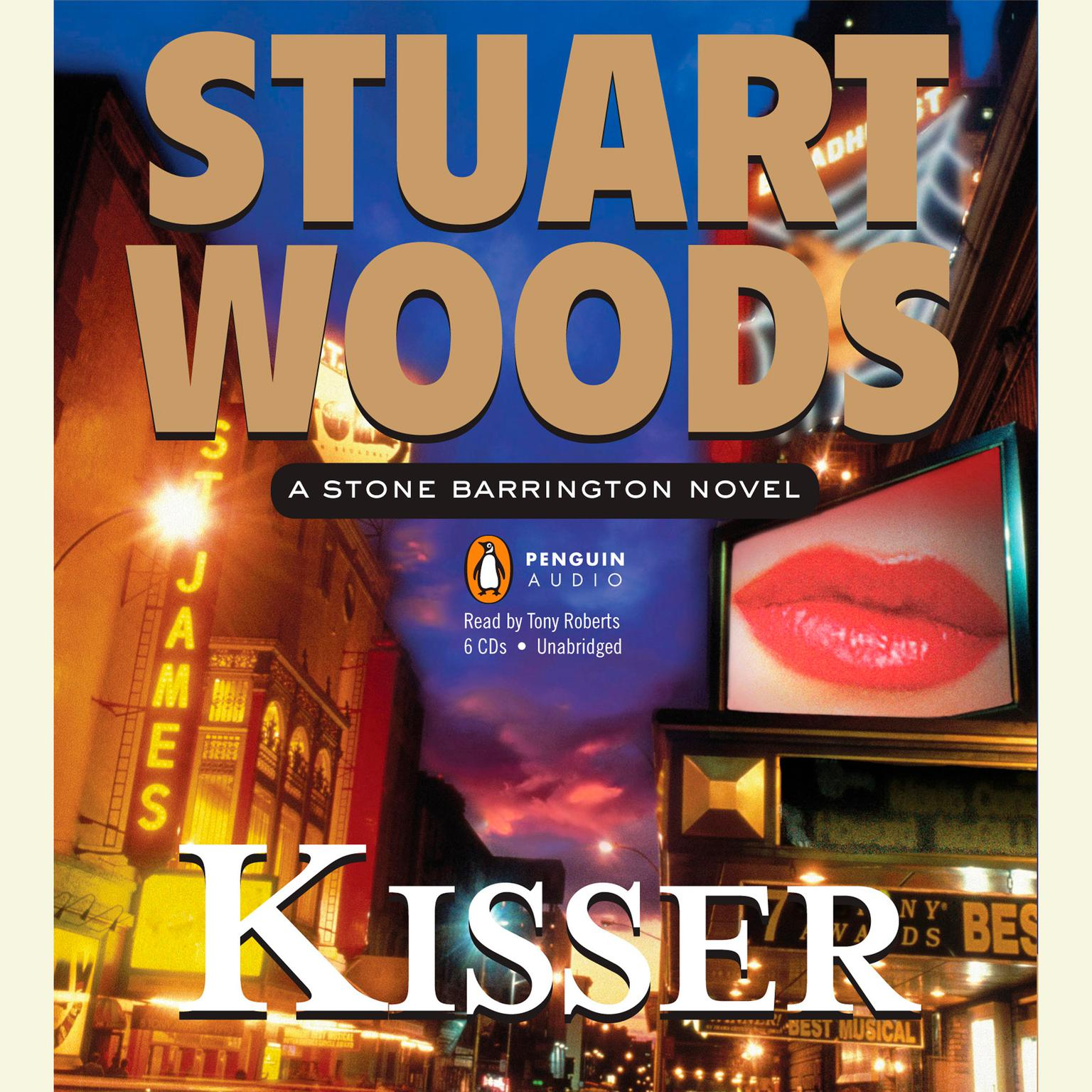 Printable Kisser: A Stone Barrington Novel Audiobook Cover Art