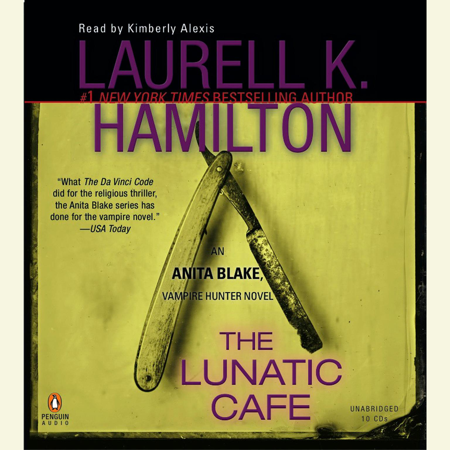 Printable The Lunatic Cafe: An Anita Blake, Vampire Hunter Novel Audiobook Cover Art