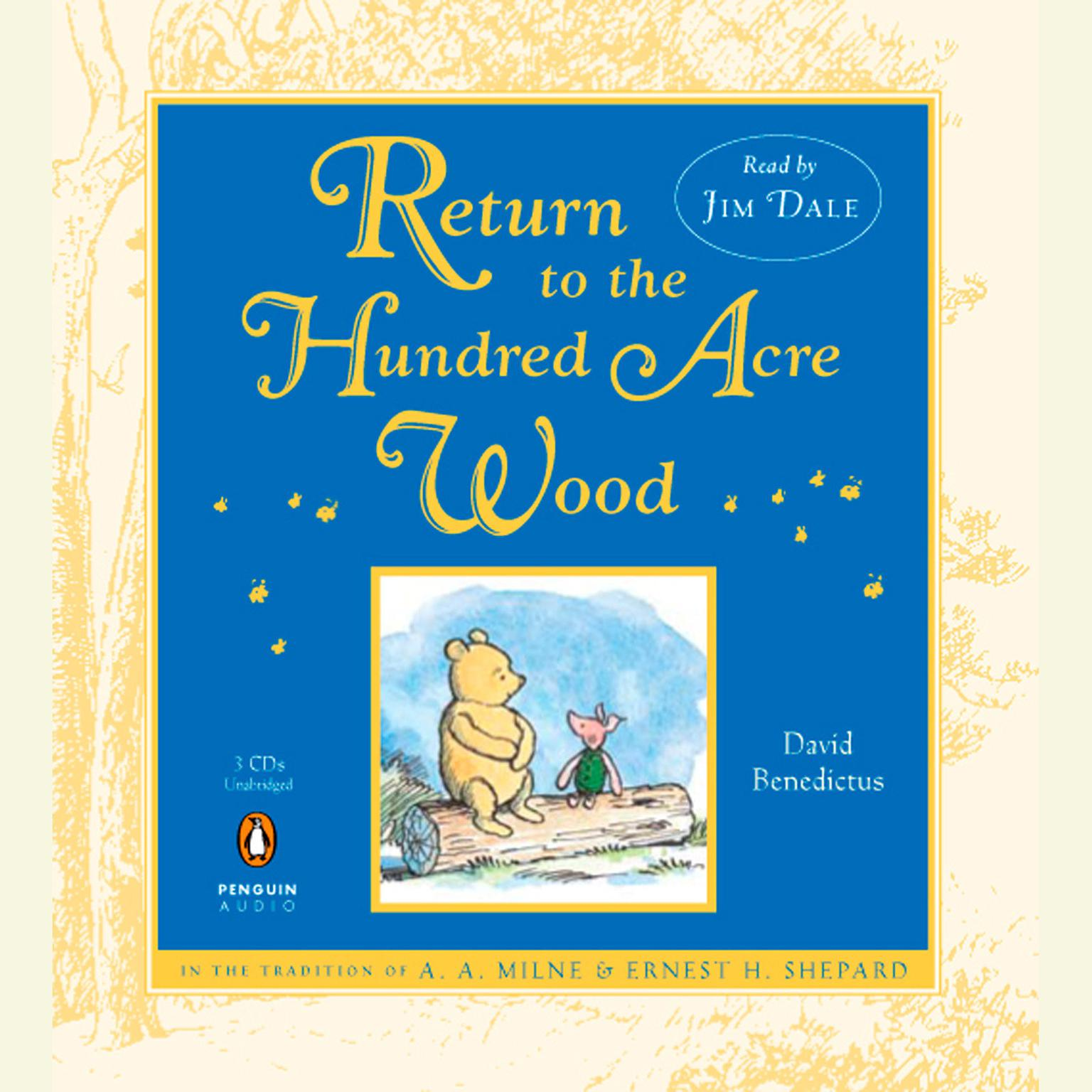 Printable Return to the Hundred Acre Wood Audiobook Cover Art