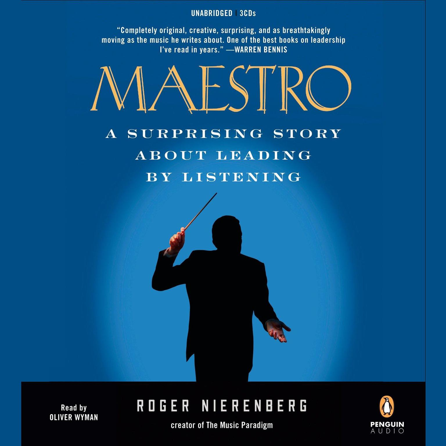 Printable Maestro: A Surprising Story About Leading by Listening Audiobook Cover Art