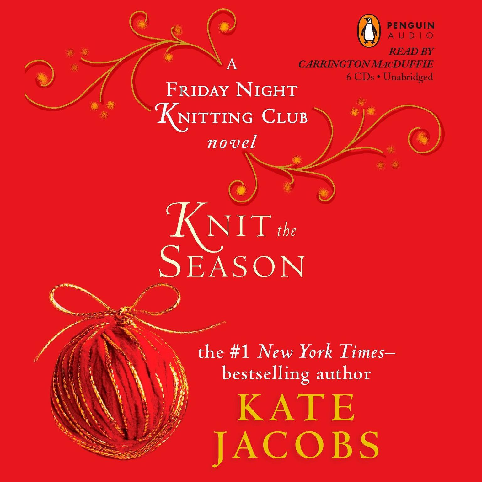 Printable Knit the Season: A Friday Night Knitting Club Novel Audiobook Cover Art