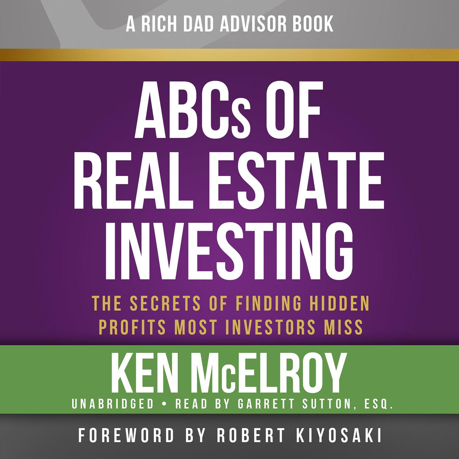 Printable The ABCs of Real Estate Investing: The Secrets of Finding Hidden Profits Most Investors Miss Audiobook Cover Art
