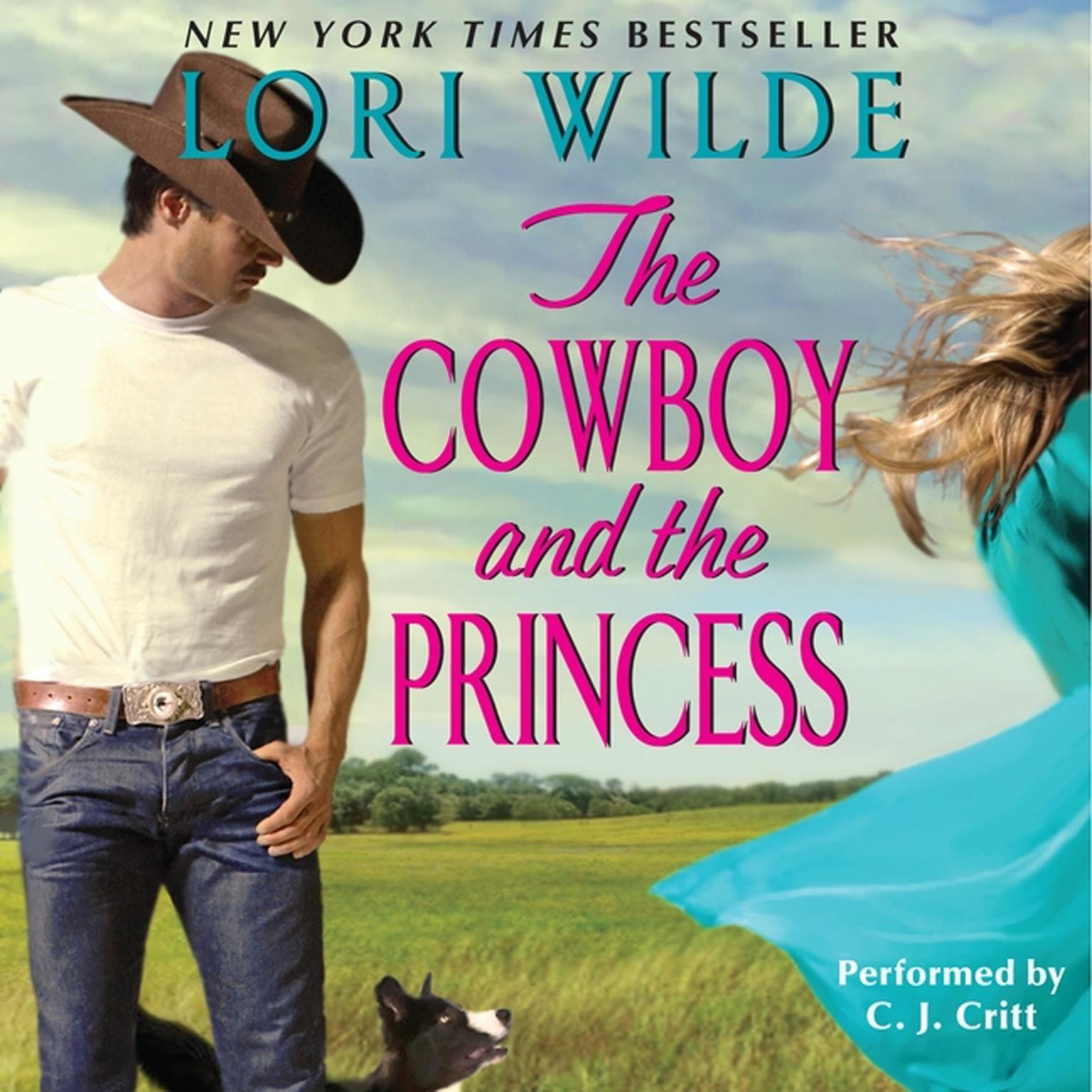 Printable The Cowboy and the Princess Audiobook Cover Art