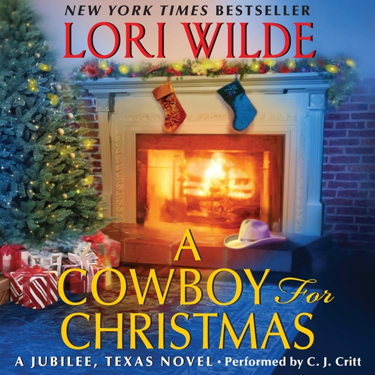 Printable A Cowboy for Christmas Audiobook Cover Art