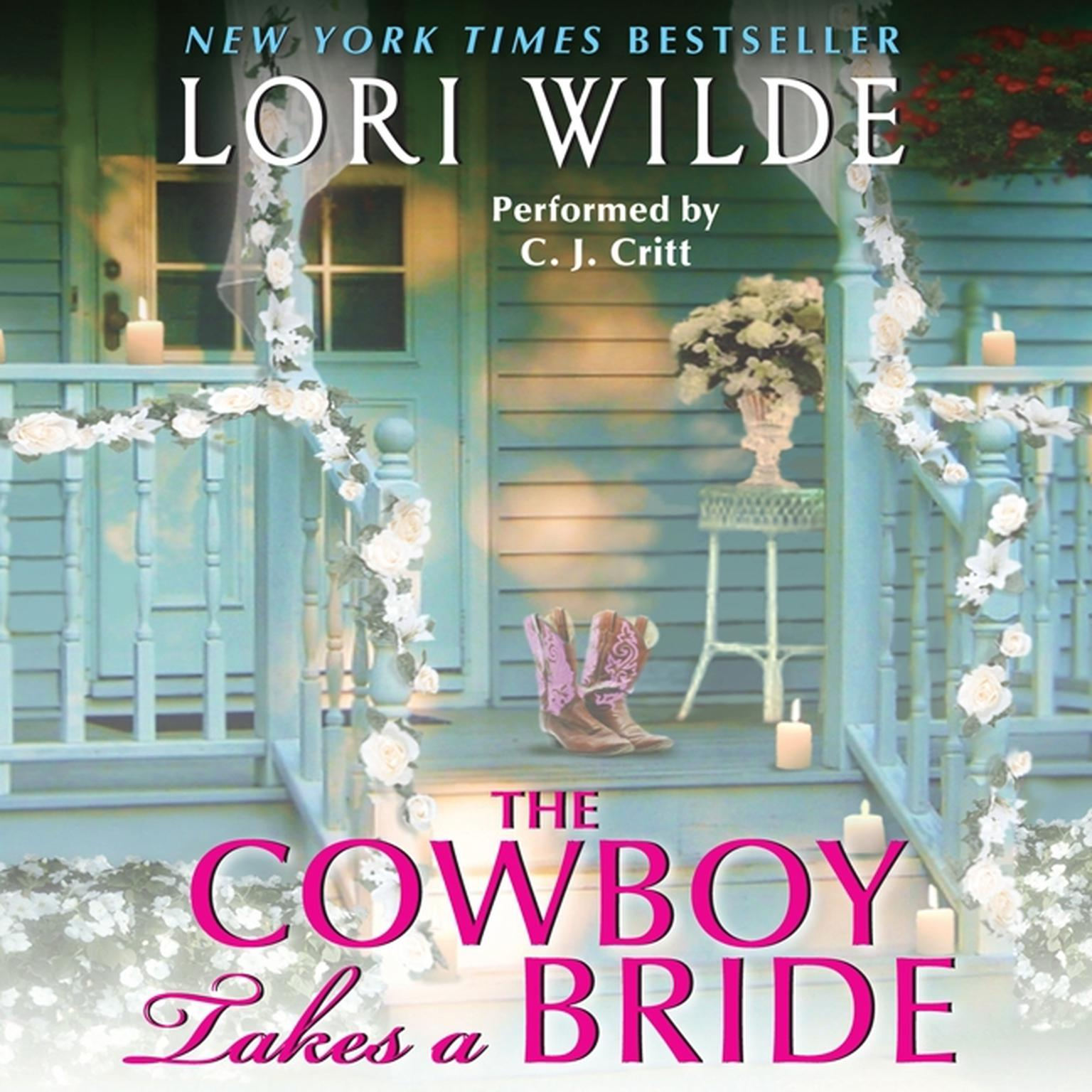 Printable The Cowboy Takes a Bride Audiobook Cover Art