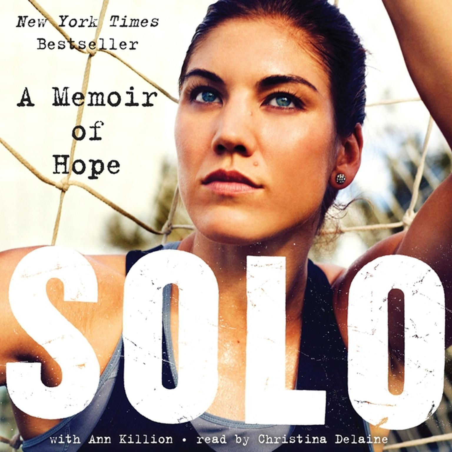 Printable Solo: A Memoir of Hope Audiobook Cover Art