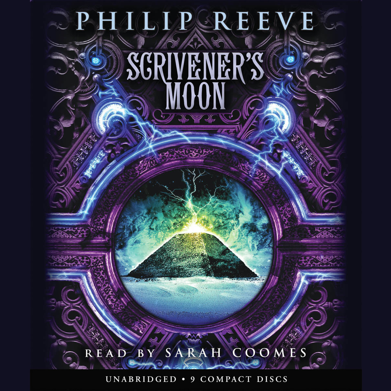 Printable Scrivener's Moon Audiobook Cover Art