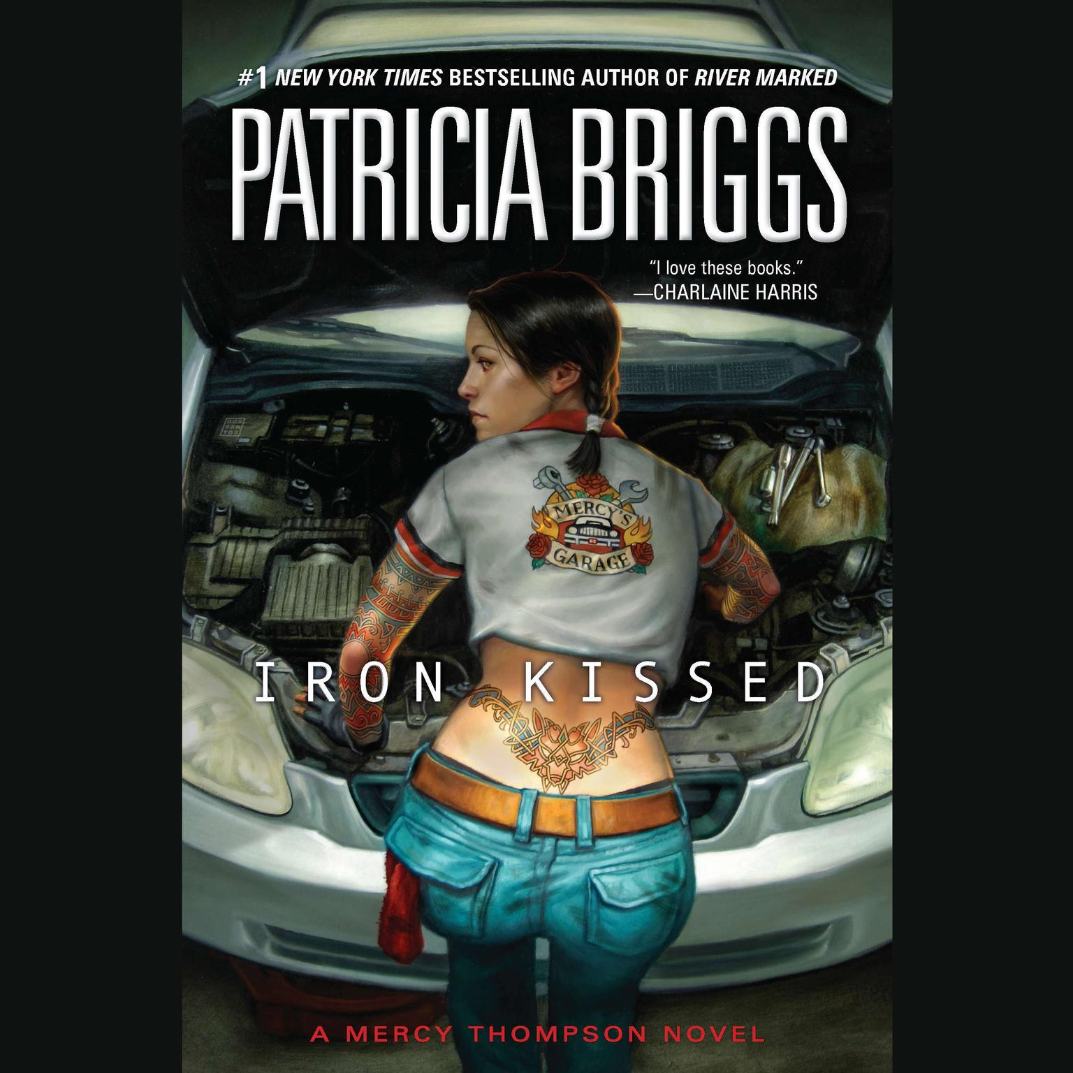 Printable Iron Kissed Audiobook Cover Art