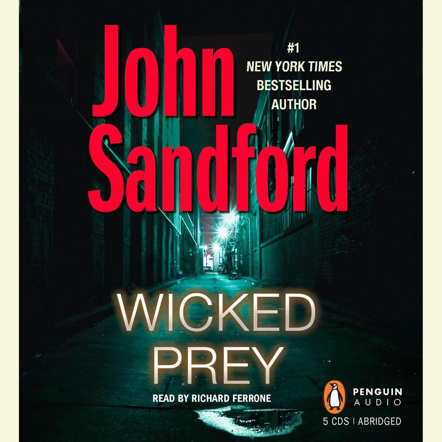 Printable Wicked Prey Audiobook Cover Art