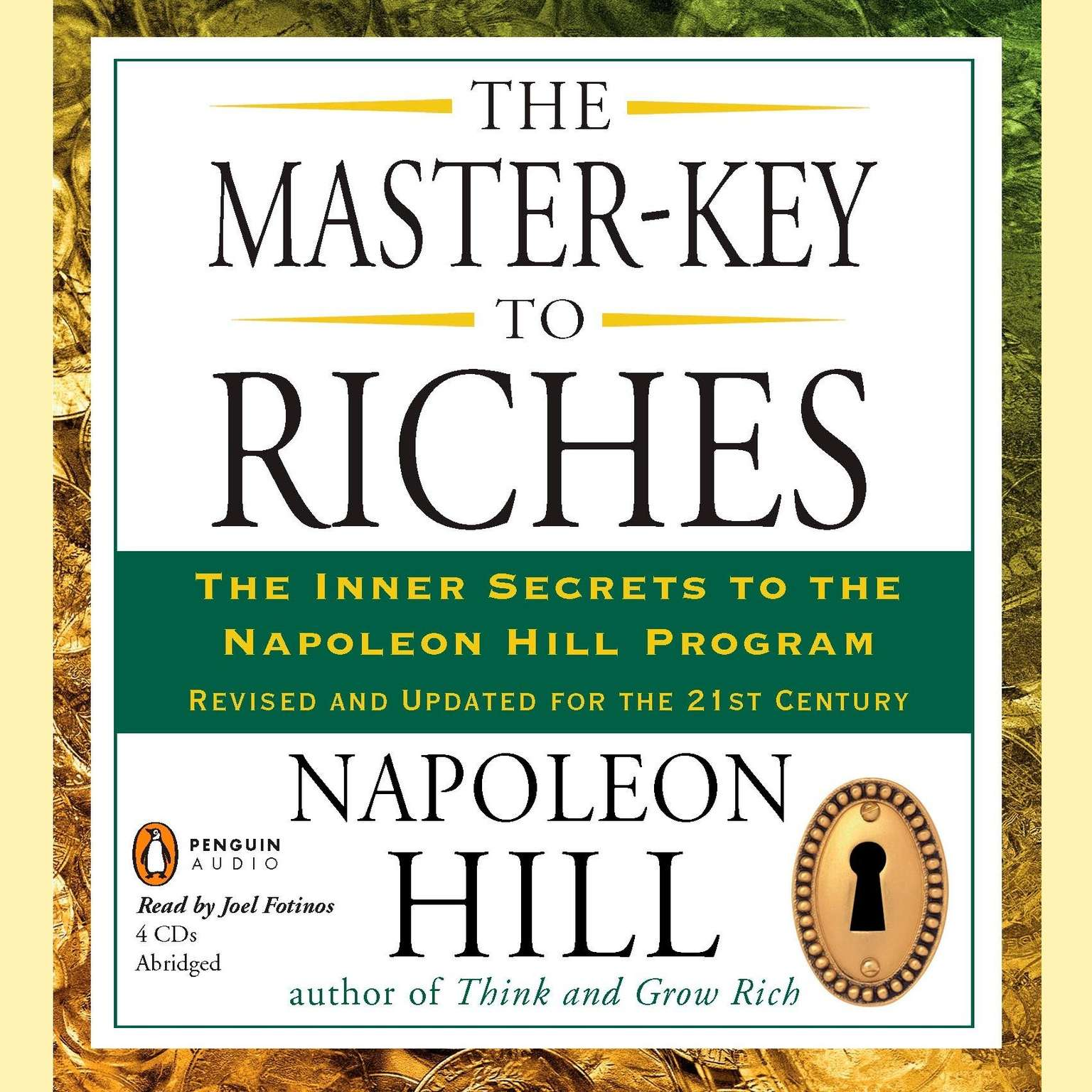 Printable The Master-Key to Riches: The Inner Secrets to the Napoleon Hill Program, Revised and Updated Audiobook Cover Art