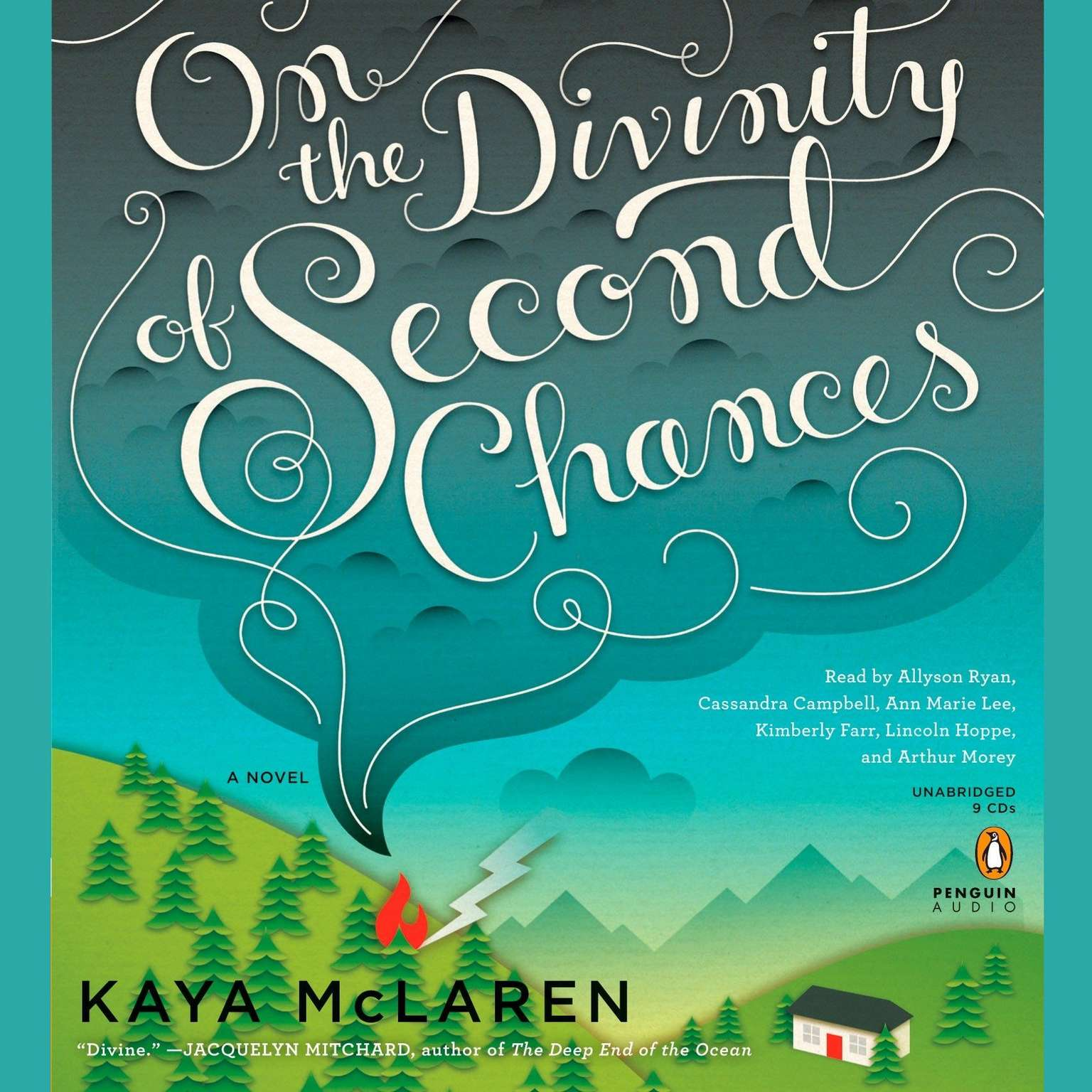 Printable On the Divinity of Second Chances: A Novel Audiobook Cover Art