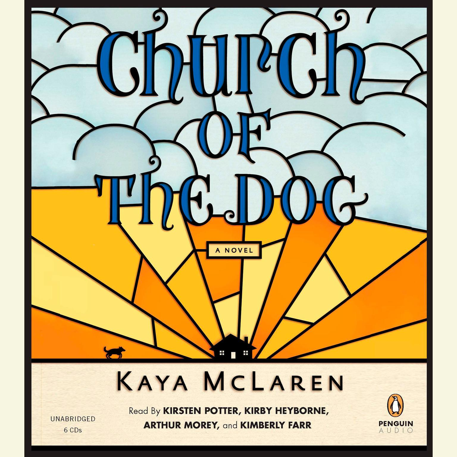 Printable Church of the Dog: A Novel Audiobook Cover Art