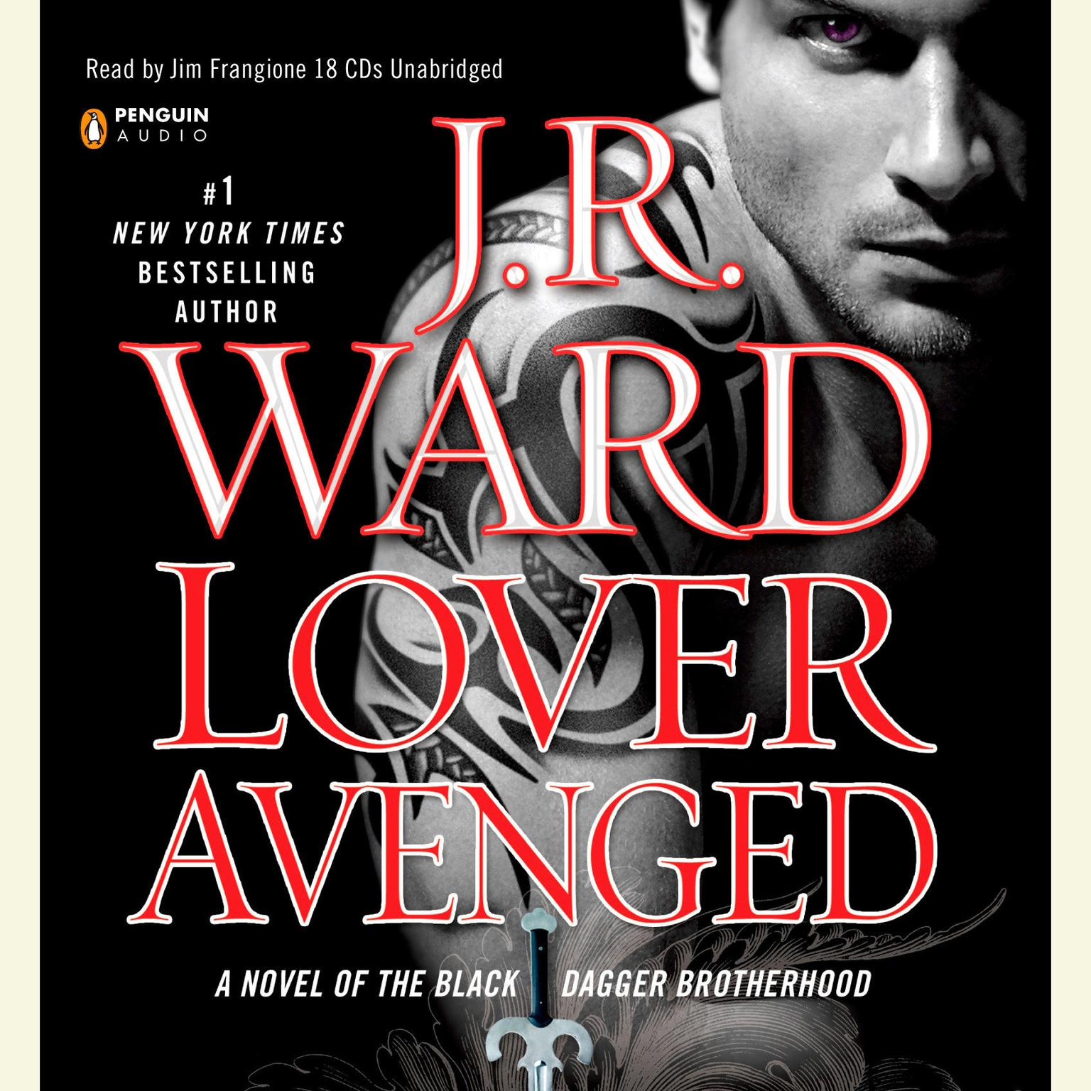 Printable Lover Avenged: A Novel of the Black Dagger Brotherhood Audiobook Cover Art