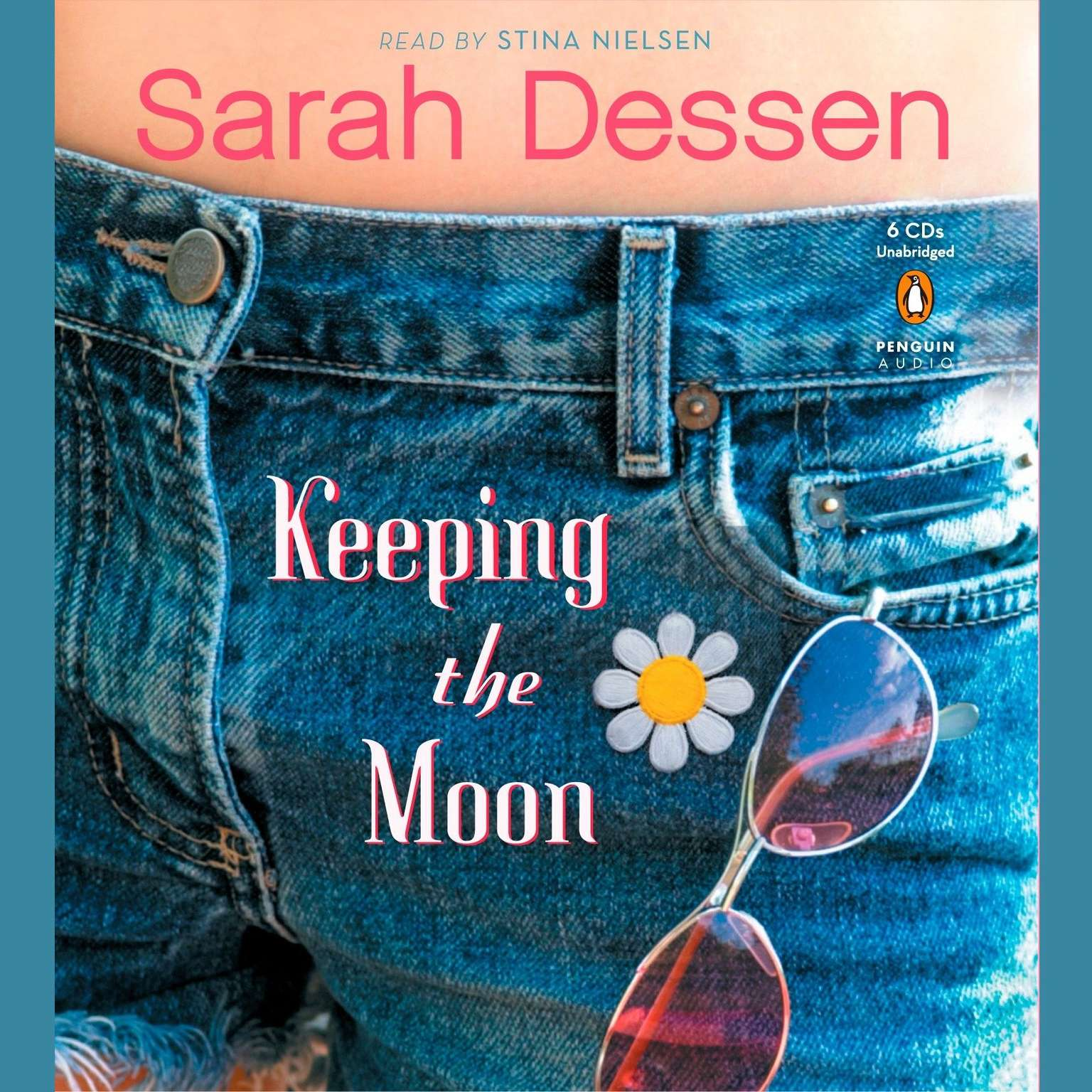 Printable Keeping the Moon Audiobook Cover Art