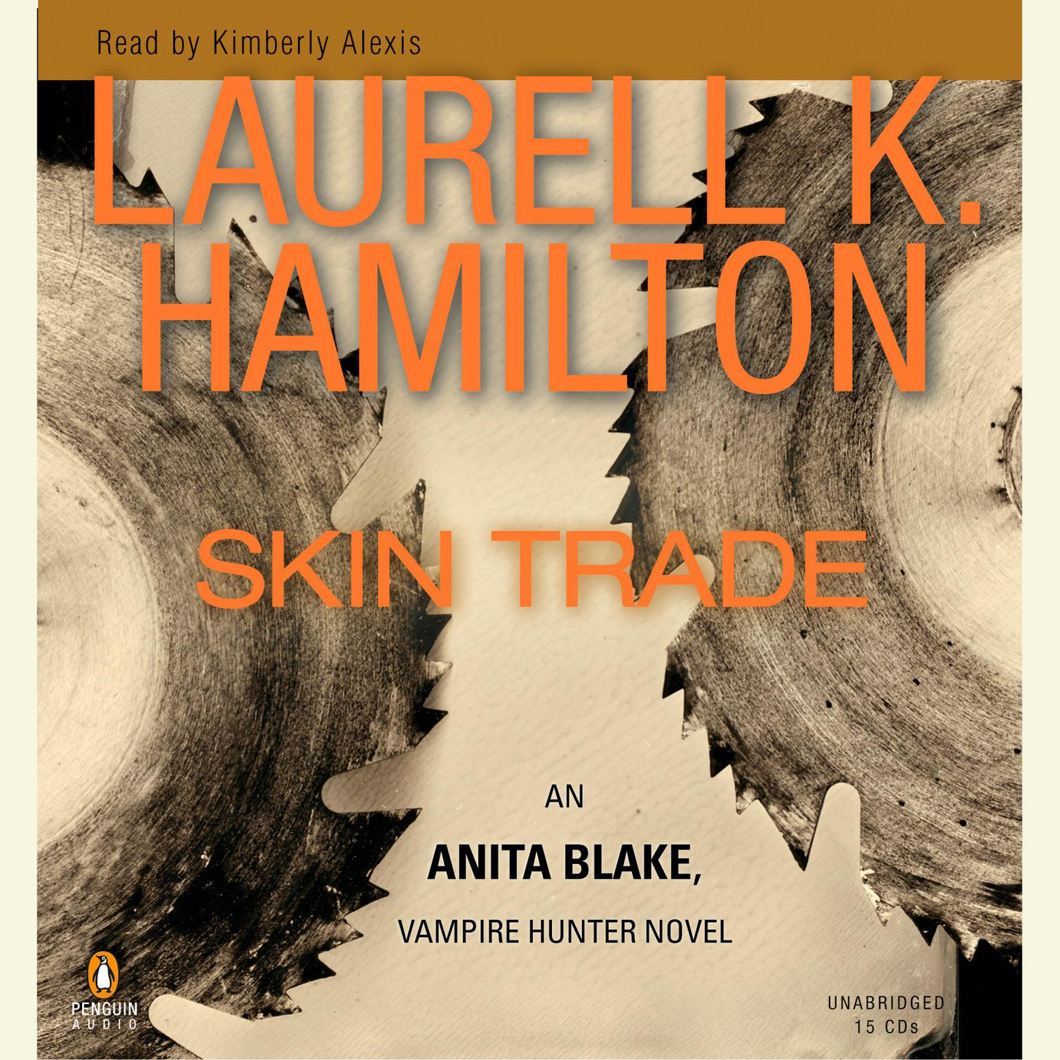 Printable Skin Trade: An Anita Blake, Vampire Hunter Novel Audiobook Cover Art